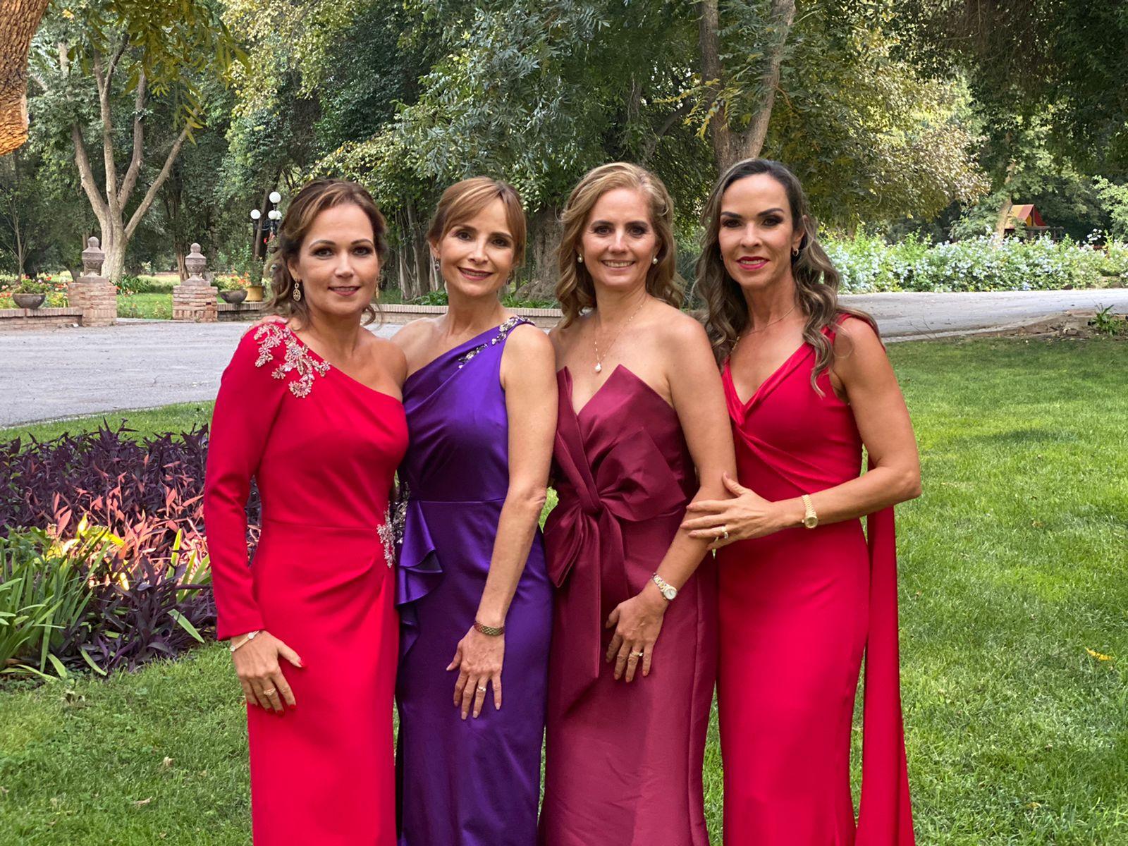 Gabriela Cárdenas, María Hortensia Lomelí,. Liliana de la Peña y Melissa Moeller.