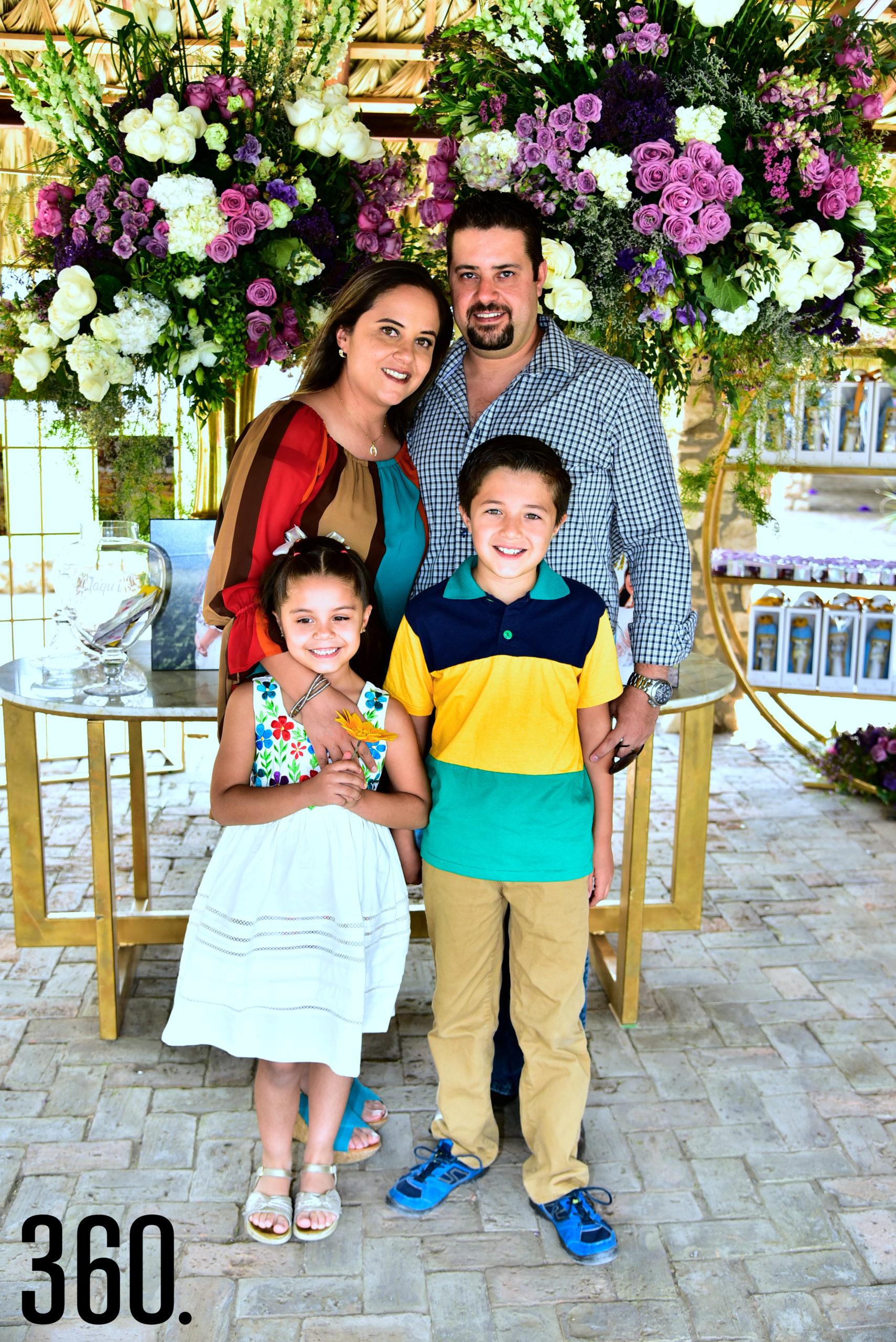 Familia Morales.