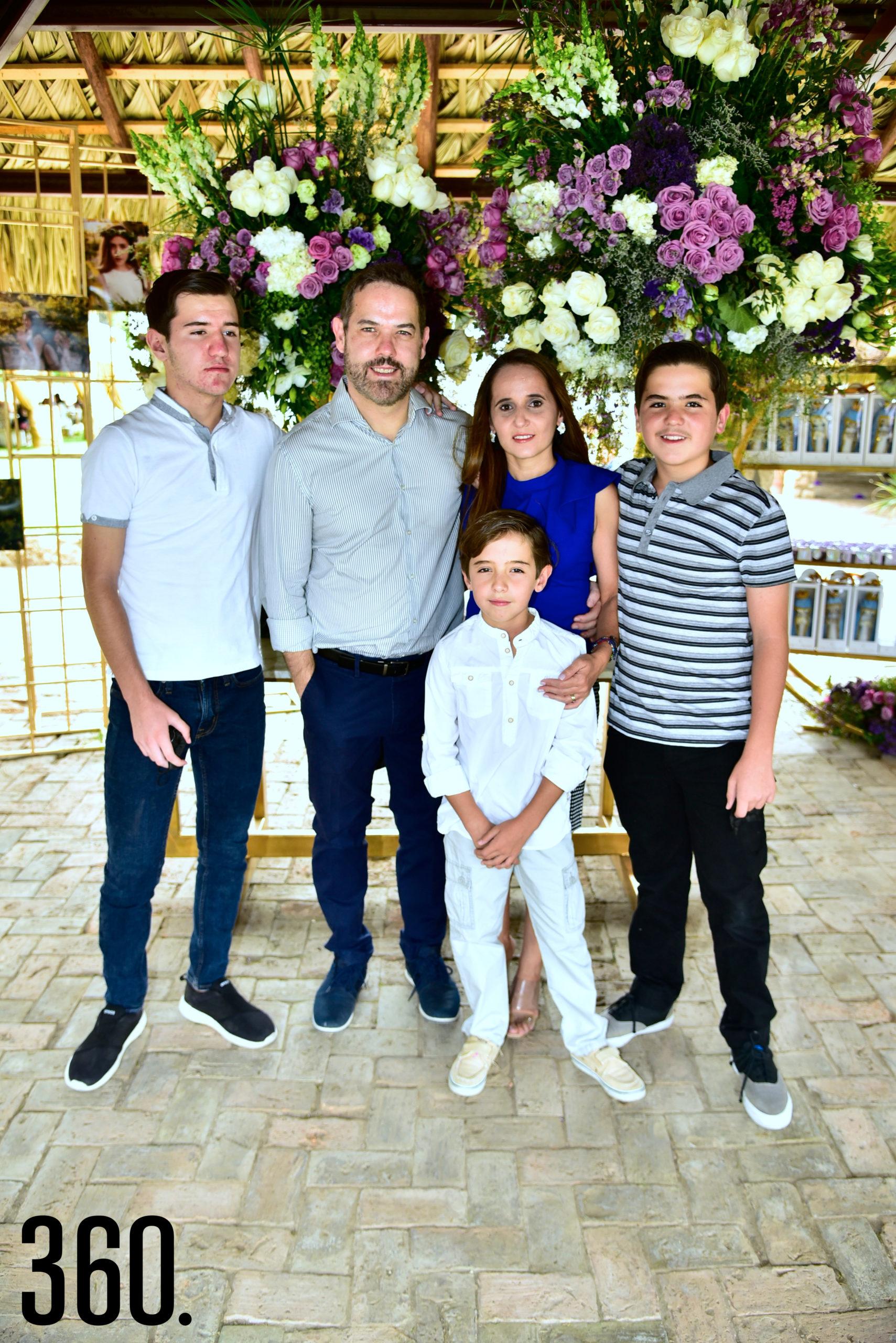 Familia Arizpe López.