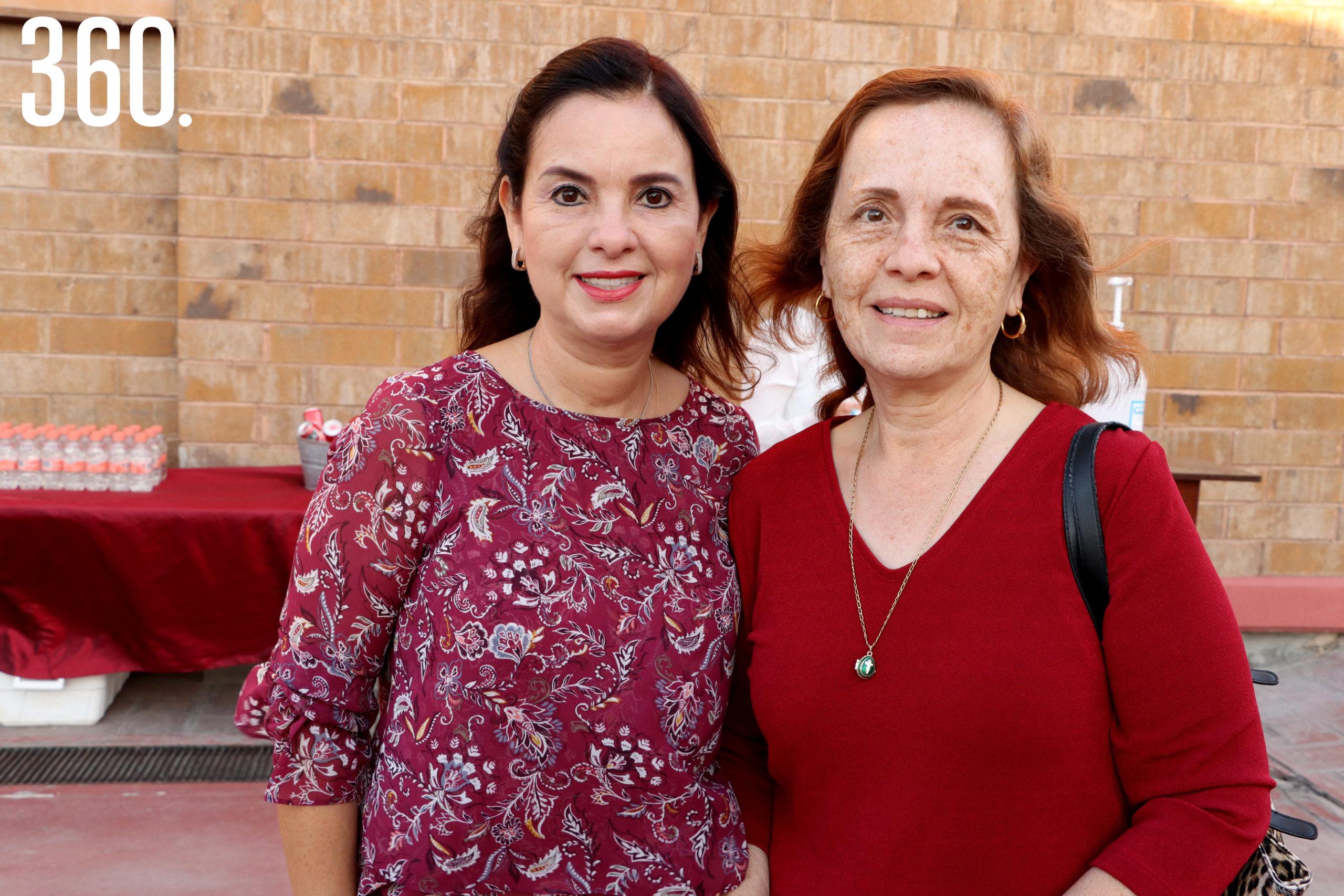 Rocío y Cecí Alvarado.