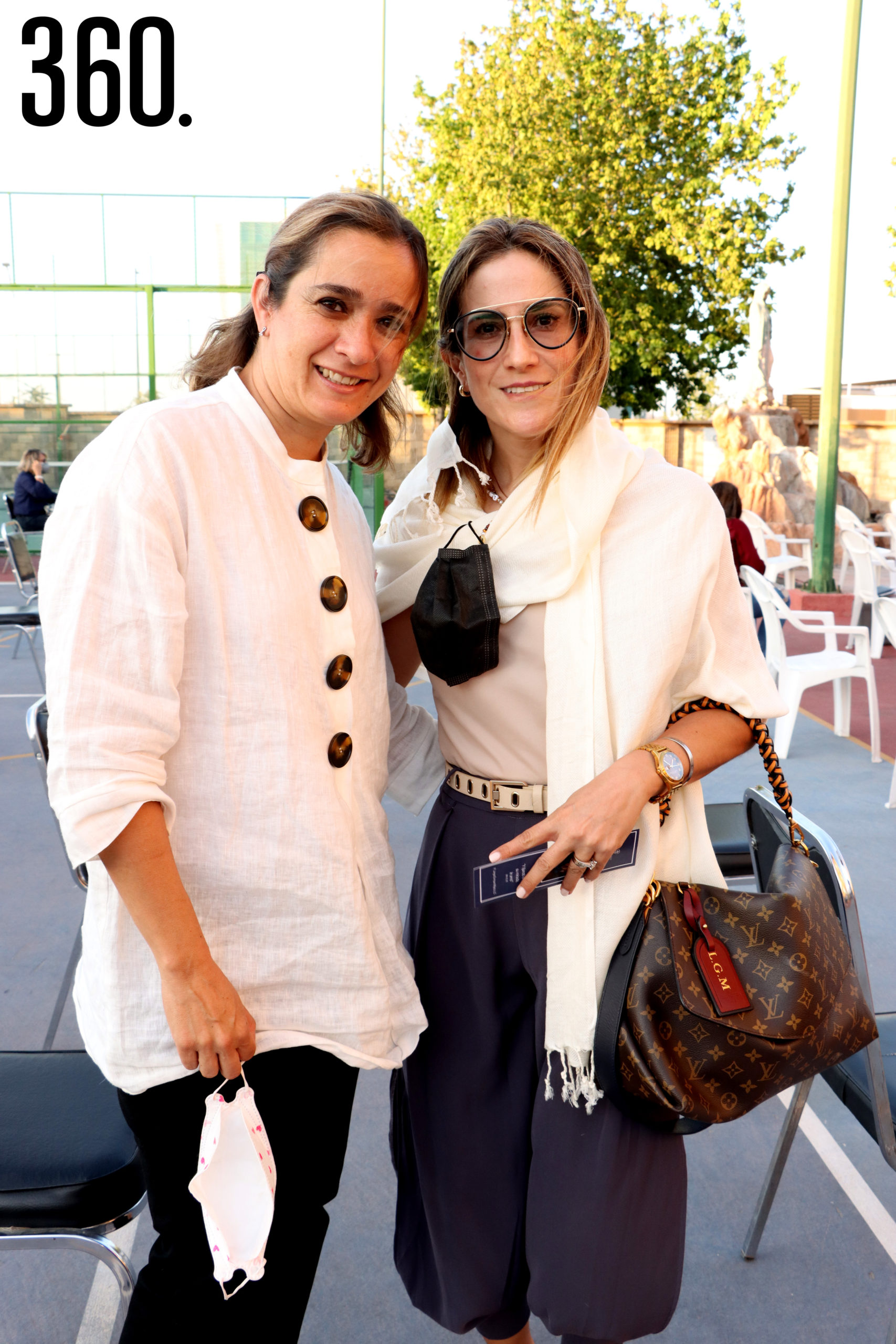 Berenice Monsivais y Luly Gutiérrez.