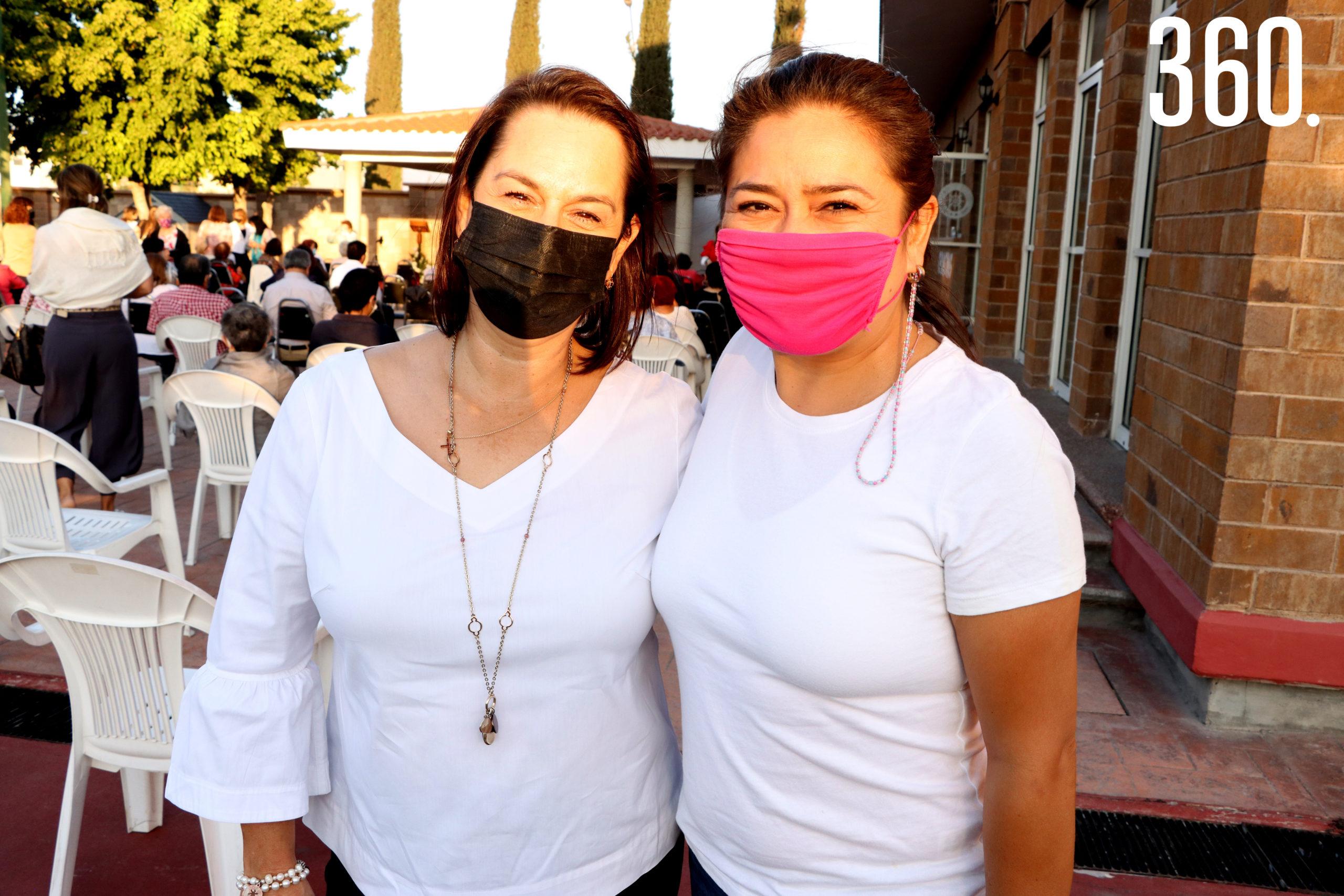 Silvia López y Janeth Berlanga.