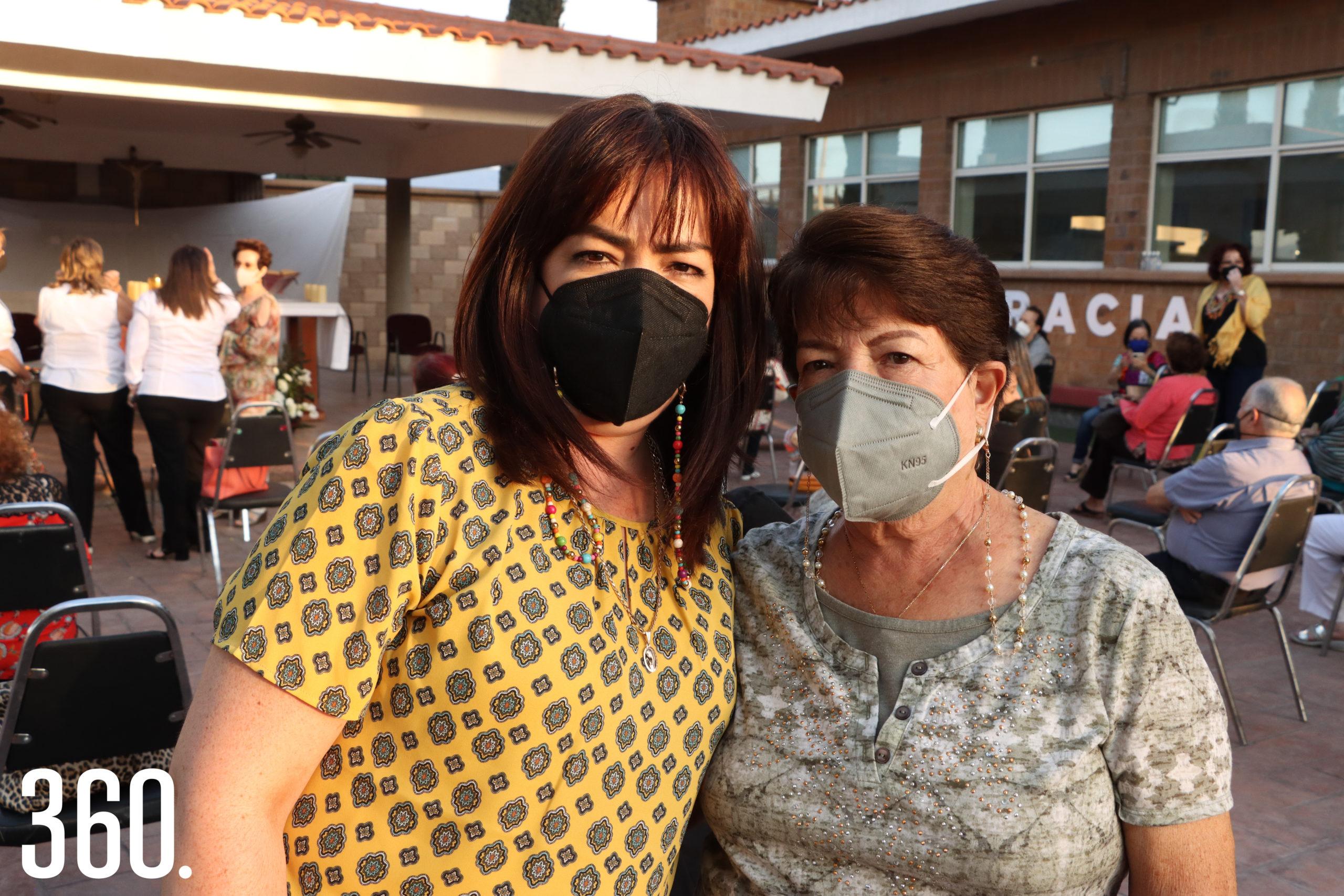 Lucía García y Josefina Martínez.