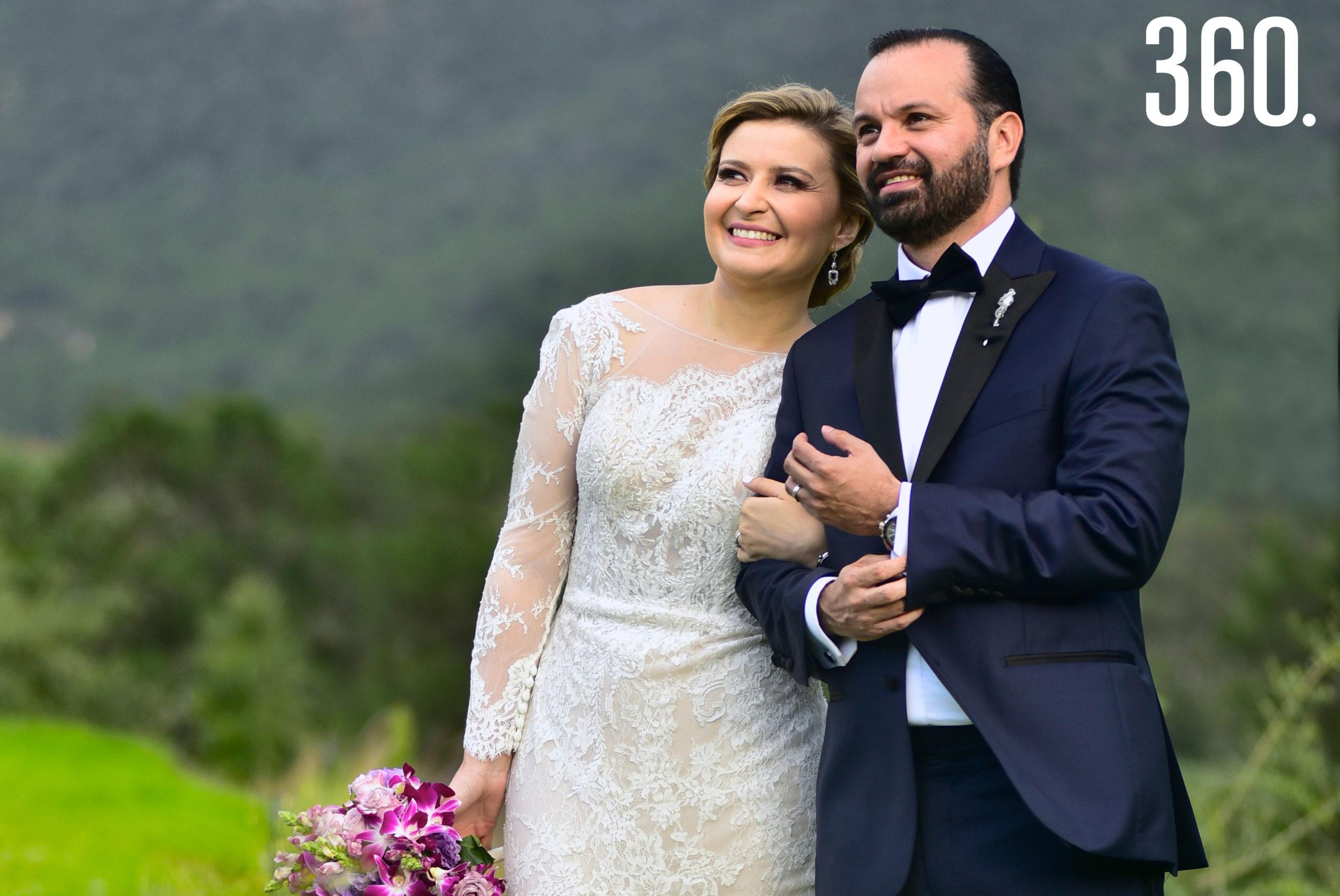 Cecilia de la Garza Martínez y Fernando González Hidalgo.