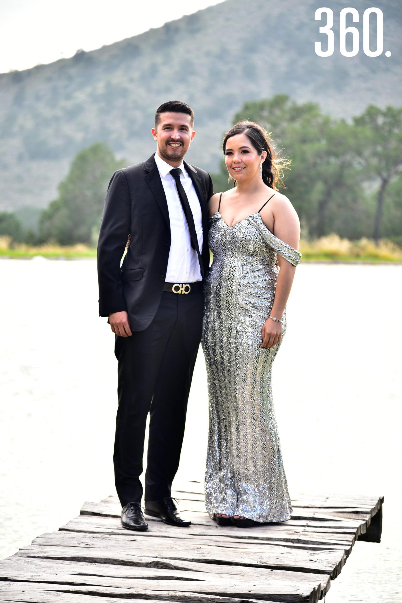 Jorge Fuentes y Tania Gil.