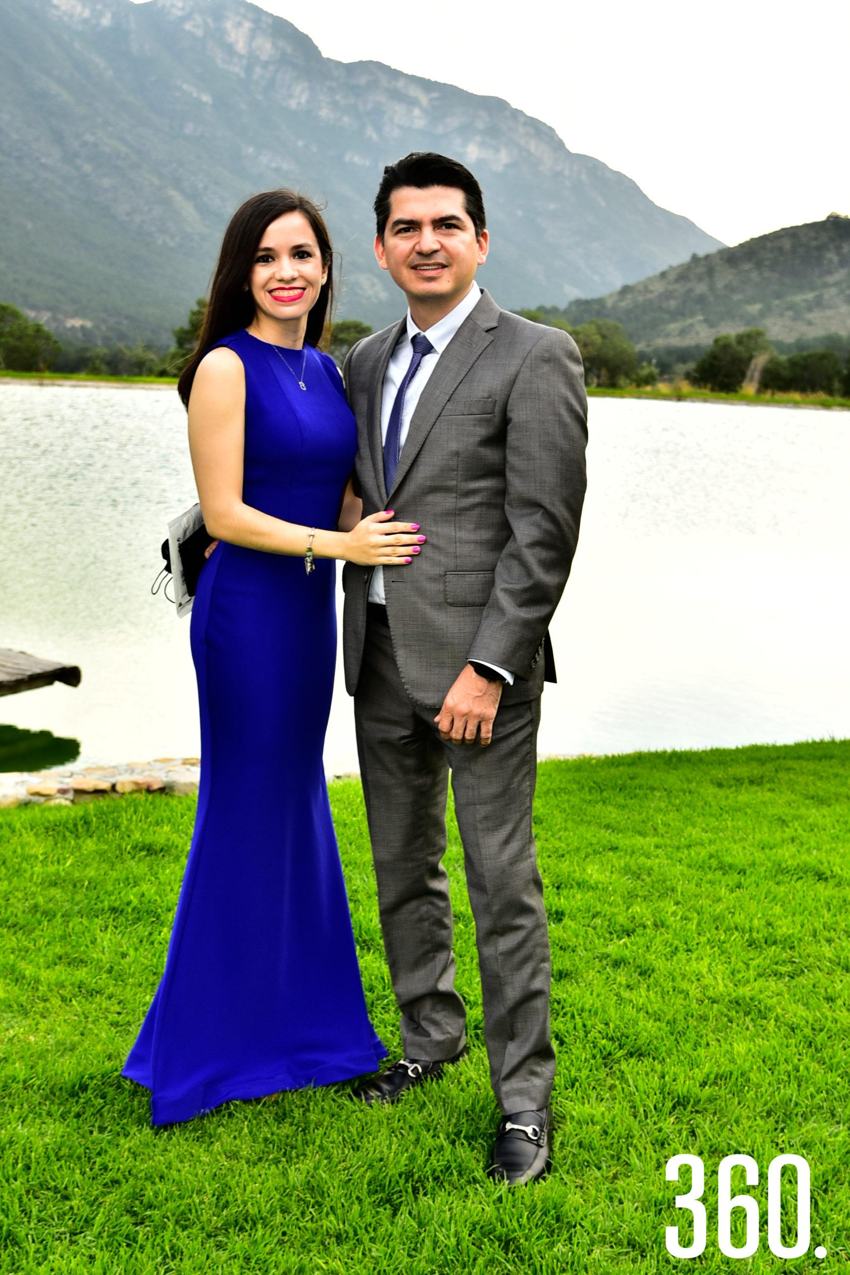 Karla Rodríguez y Francisco Osejo.