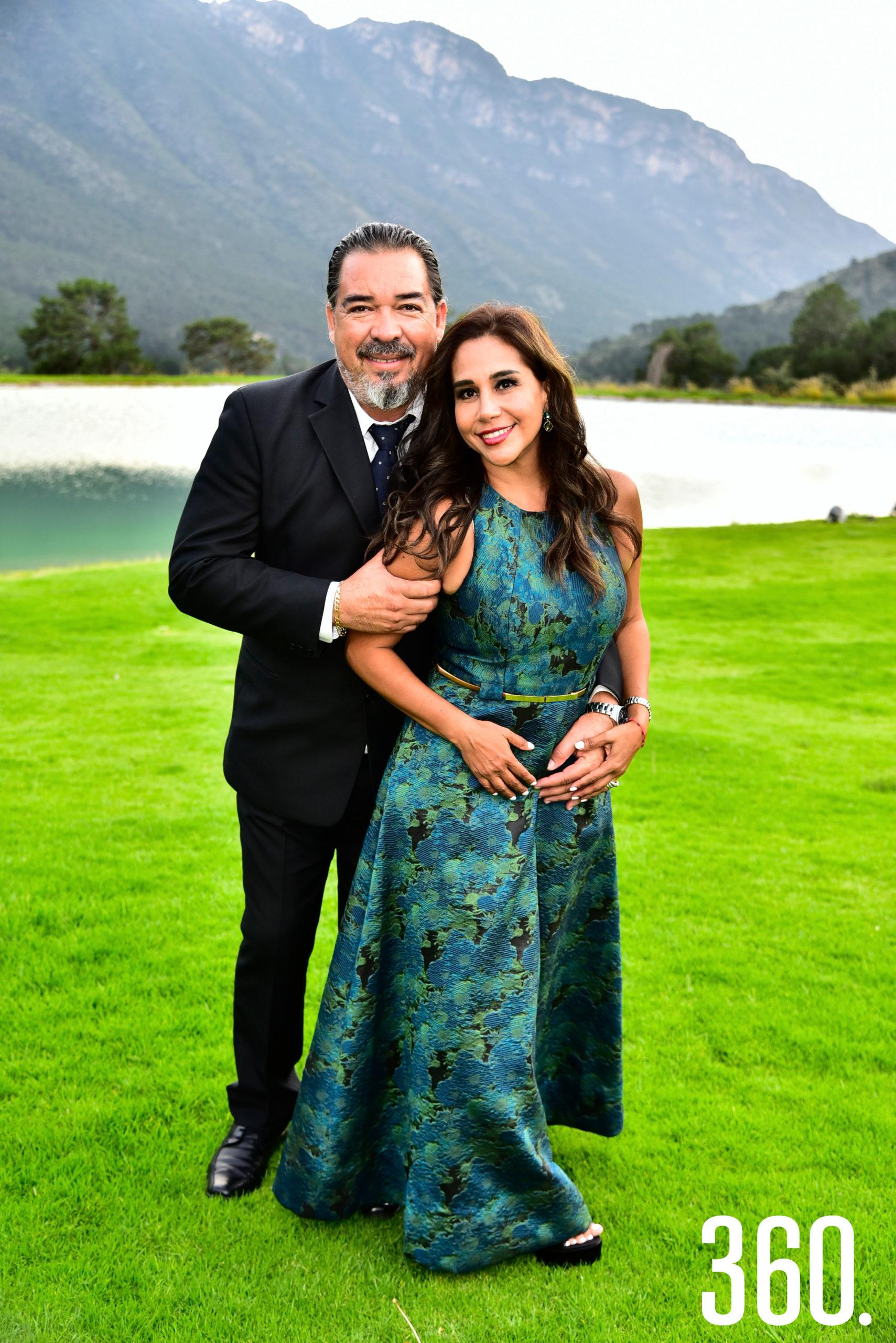 Sergio Martínez y Fabiola Nava.