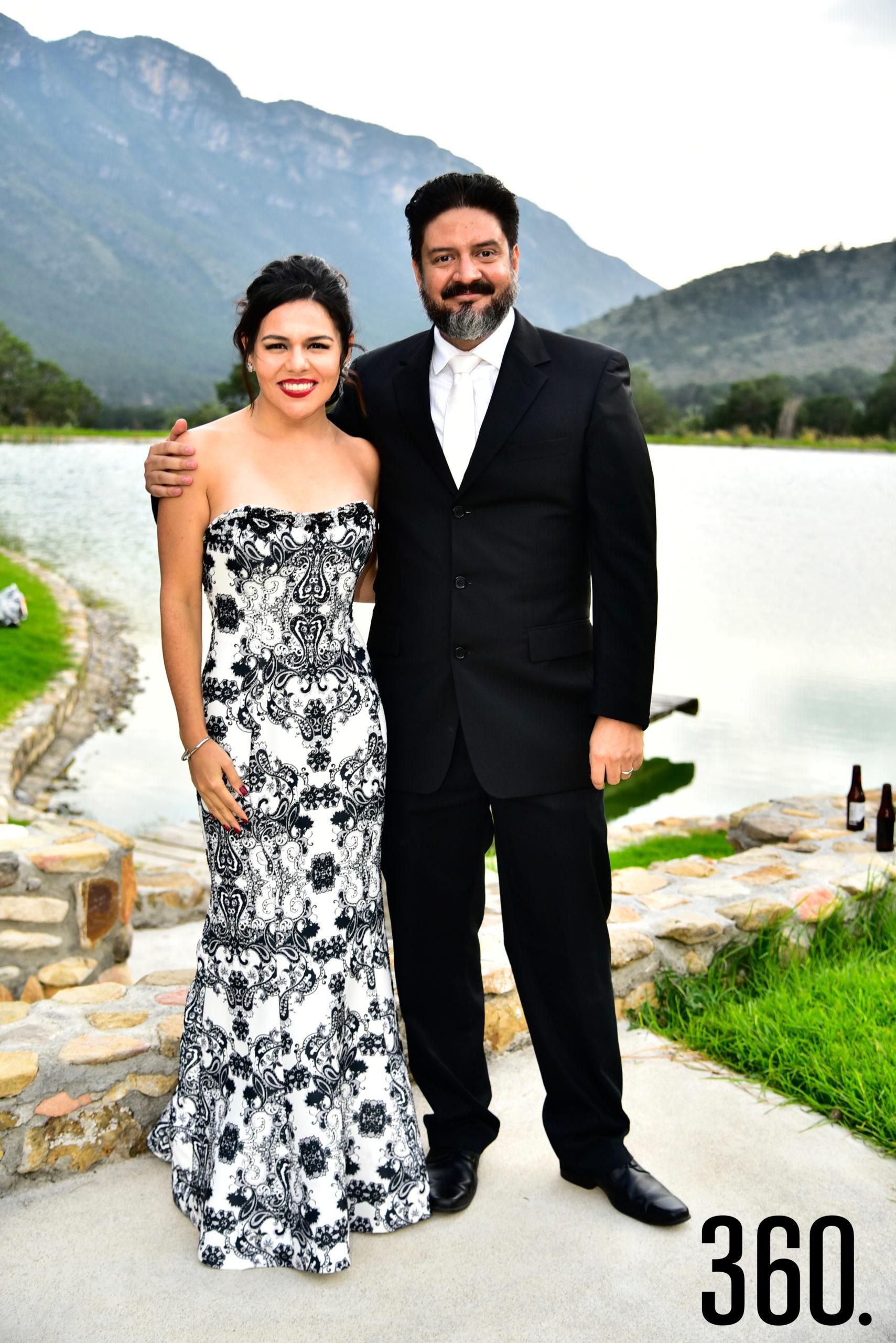 Perla Cabral y Jesús Ramírez.