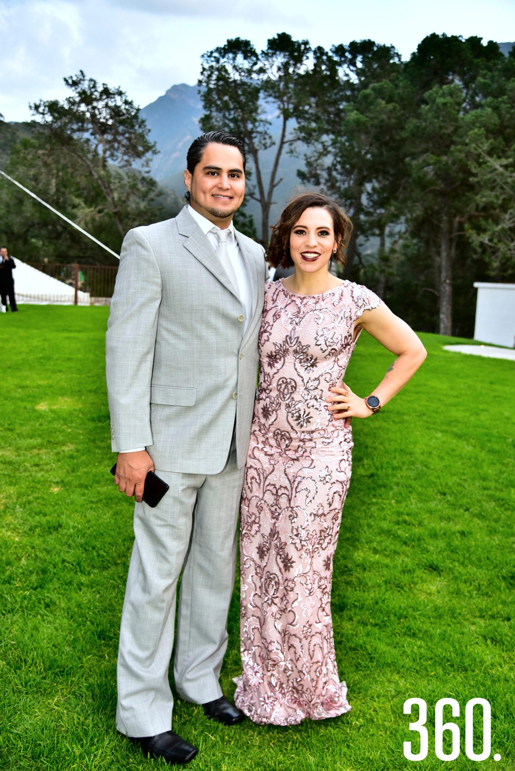 Carlos Vásquez y Silvana Segovia.