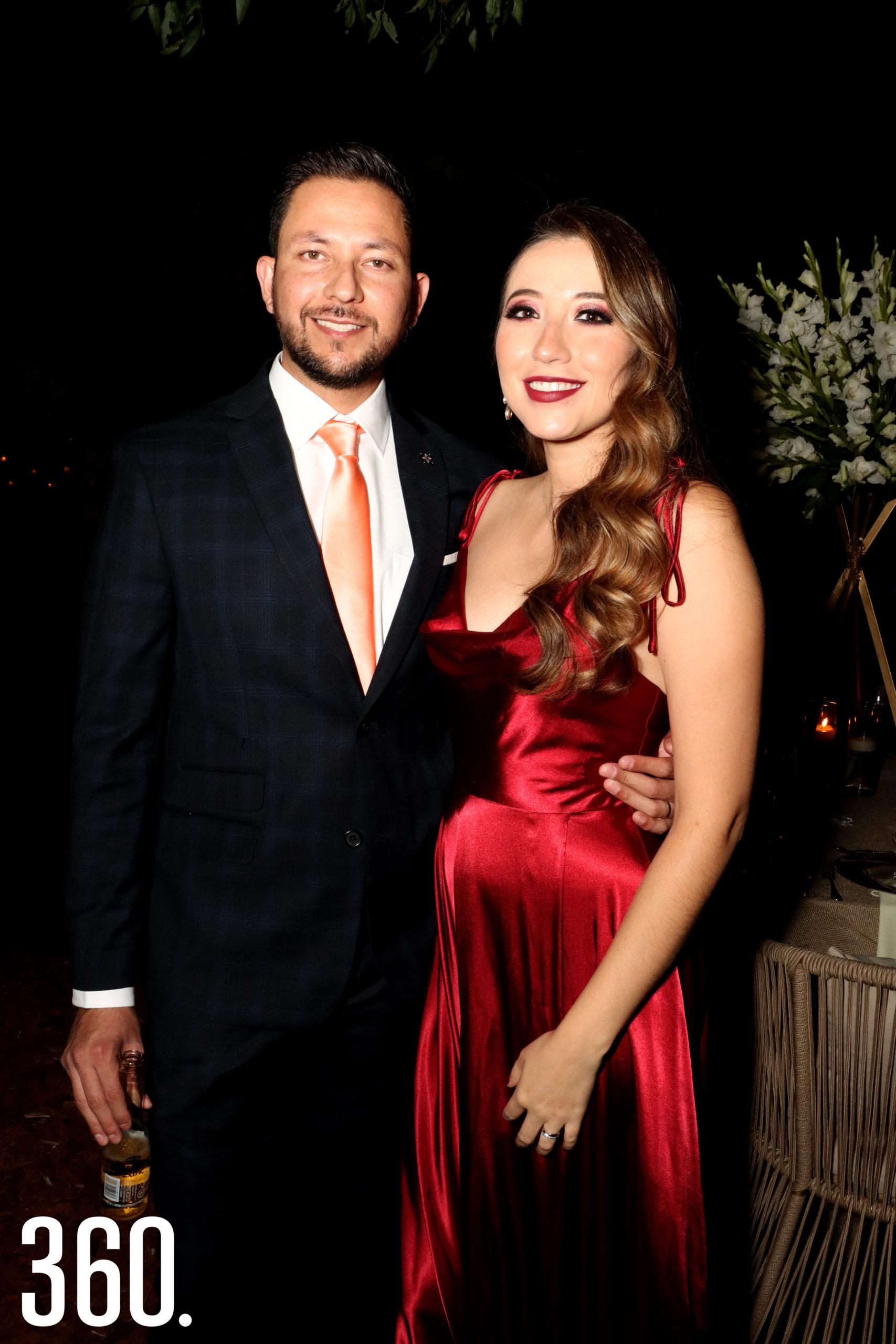 Arturo Nájera y Verónica García.
