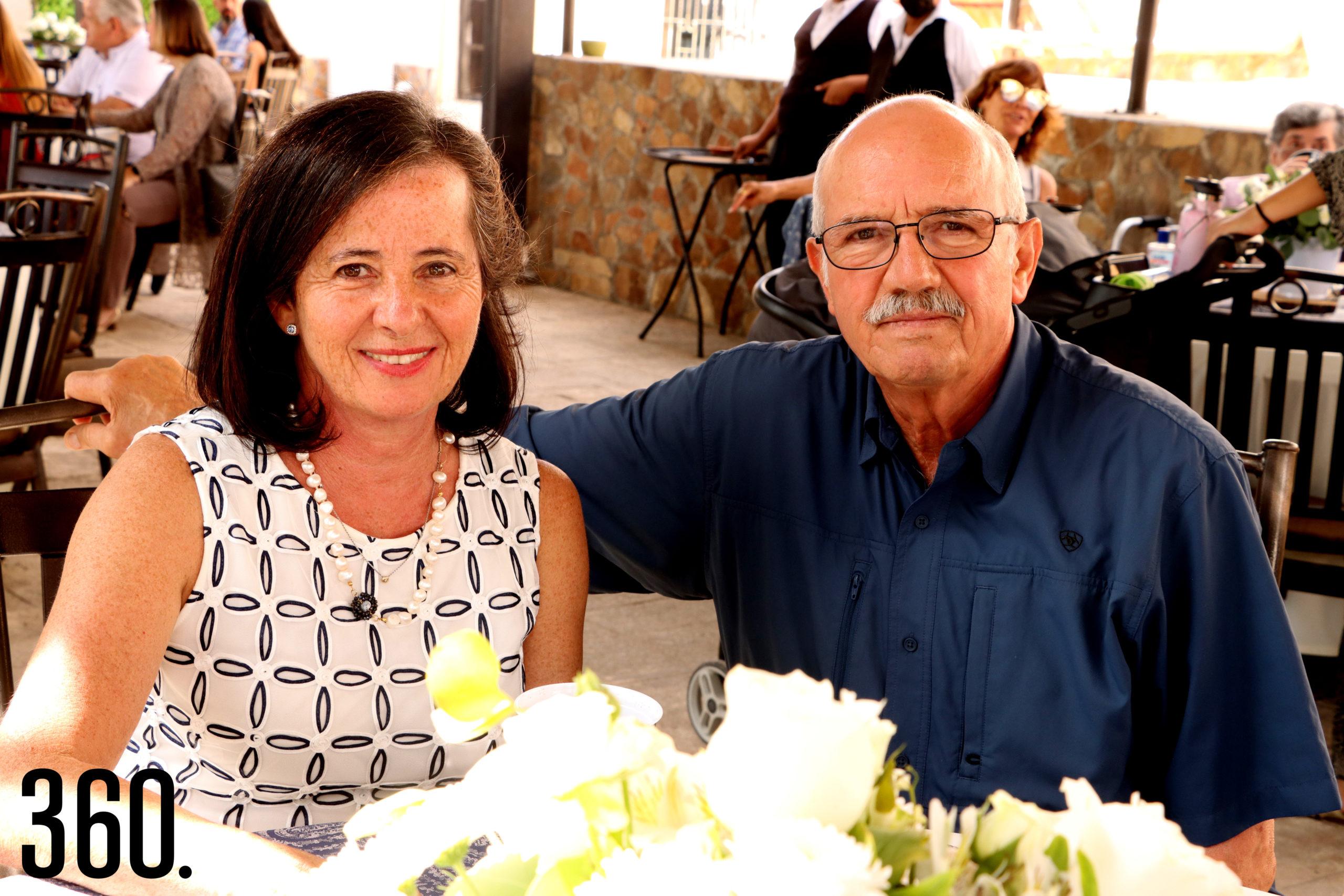 Norma Arzuaga y Karim Talamás.