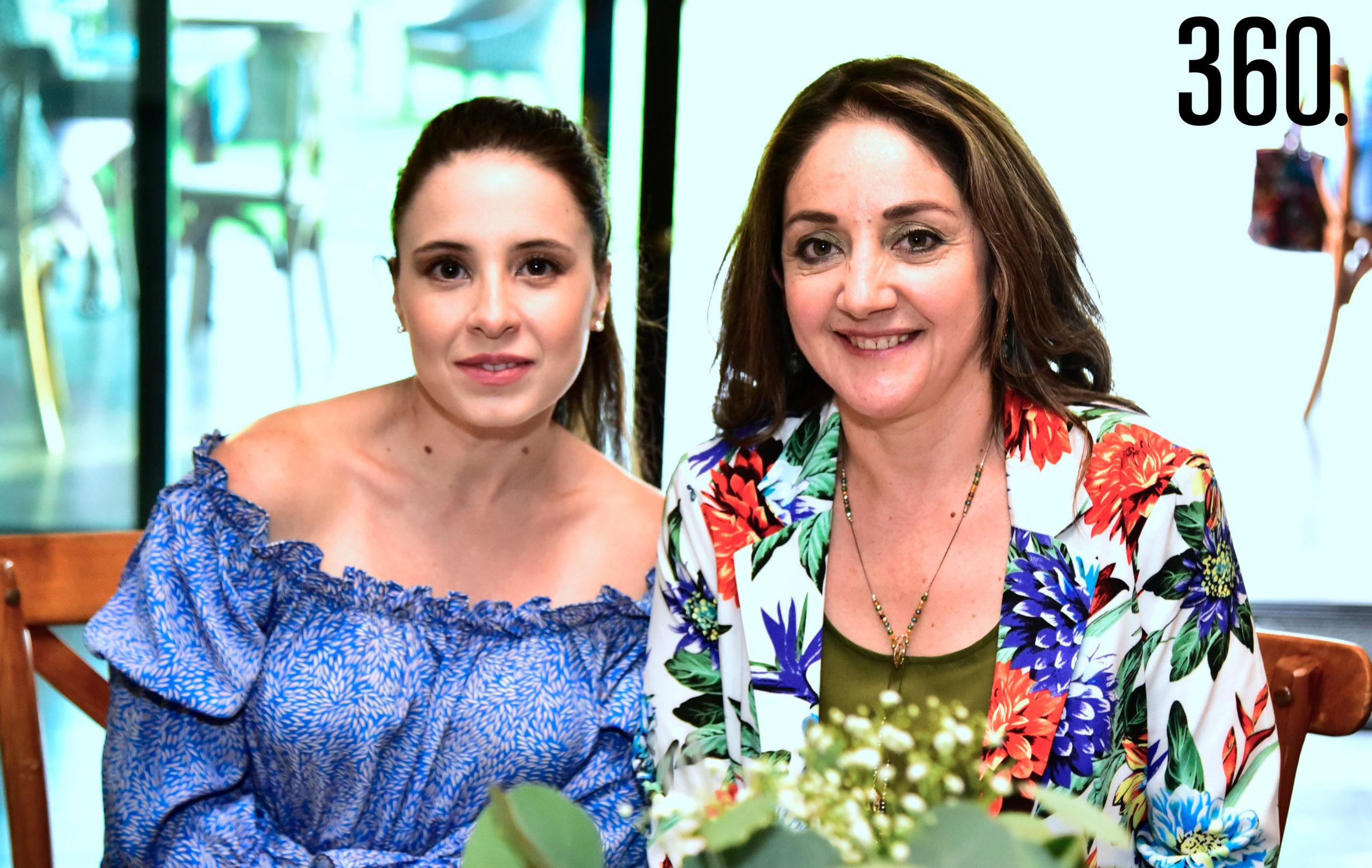 Valeria Boehringer y Ángeles Mendoza.
