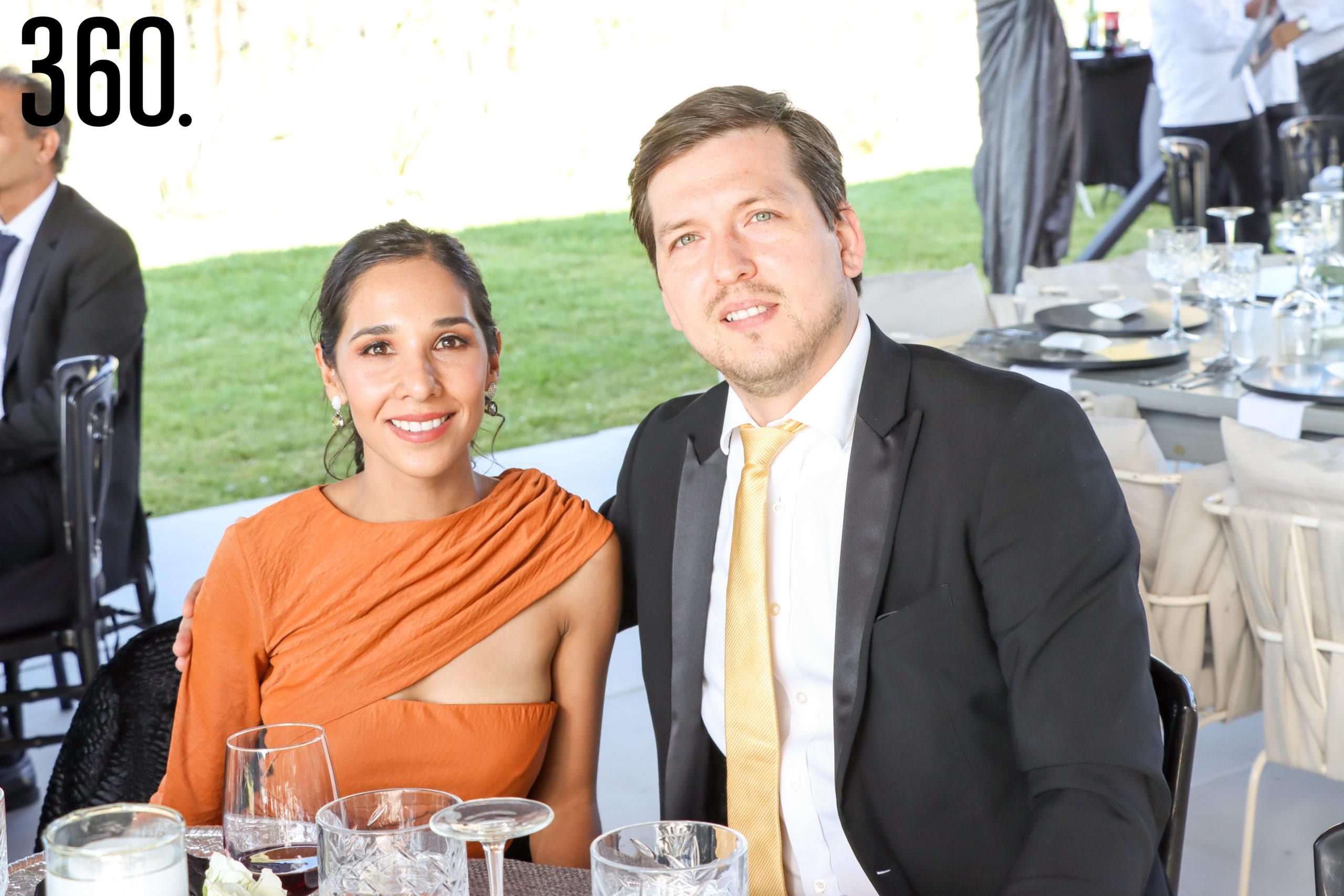 Ilse Elizondo y Rubén Méndez.