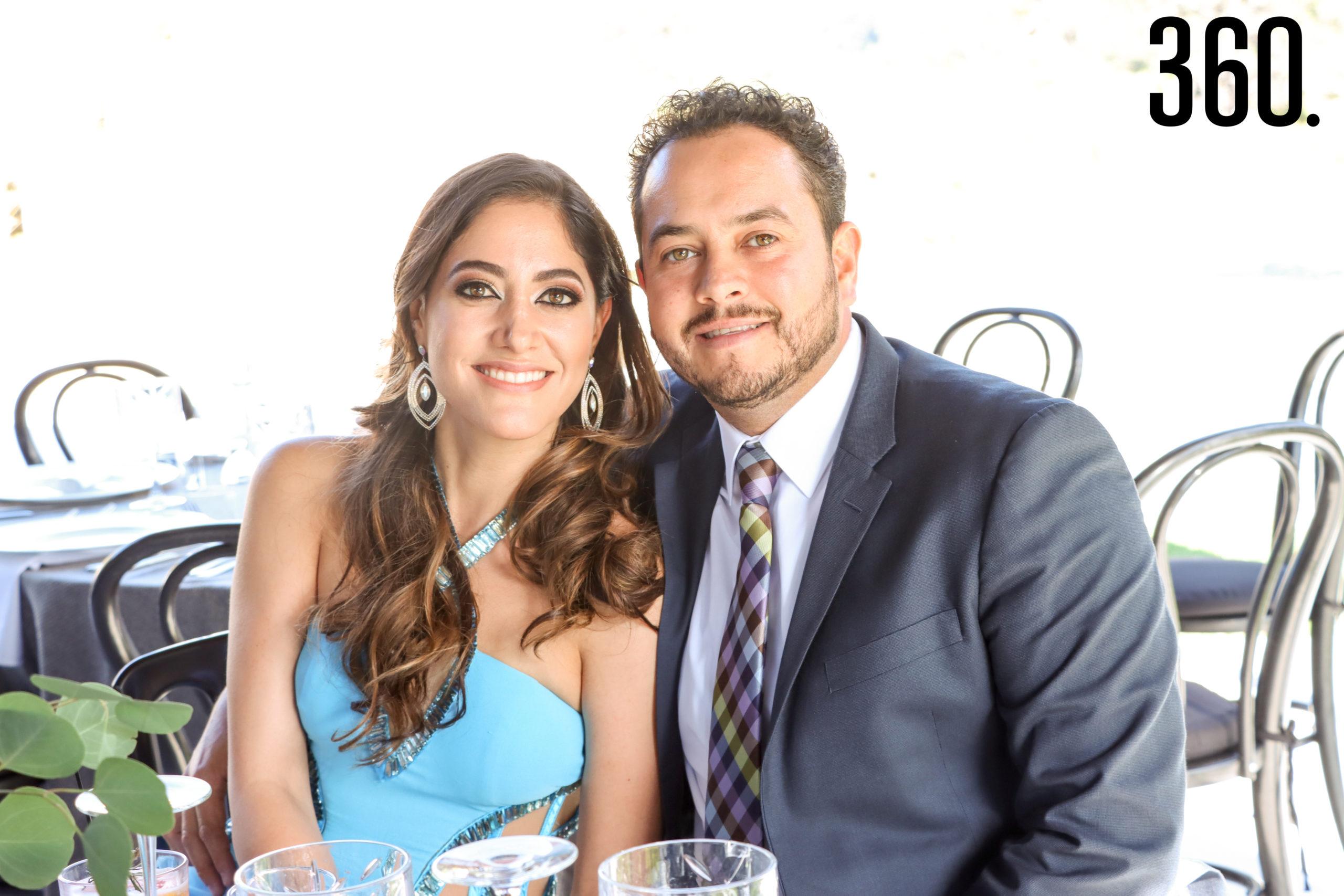 Rosa Claudia Rodríguez y Regino Ortiz.