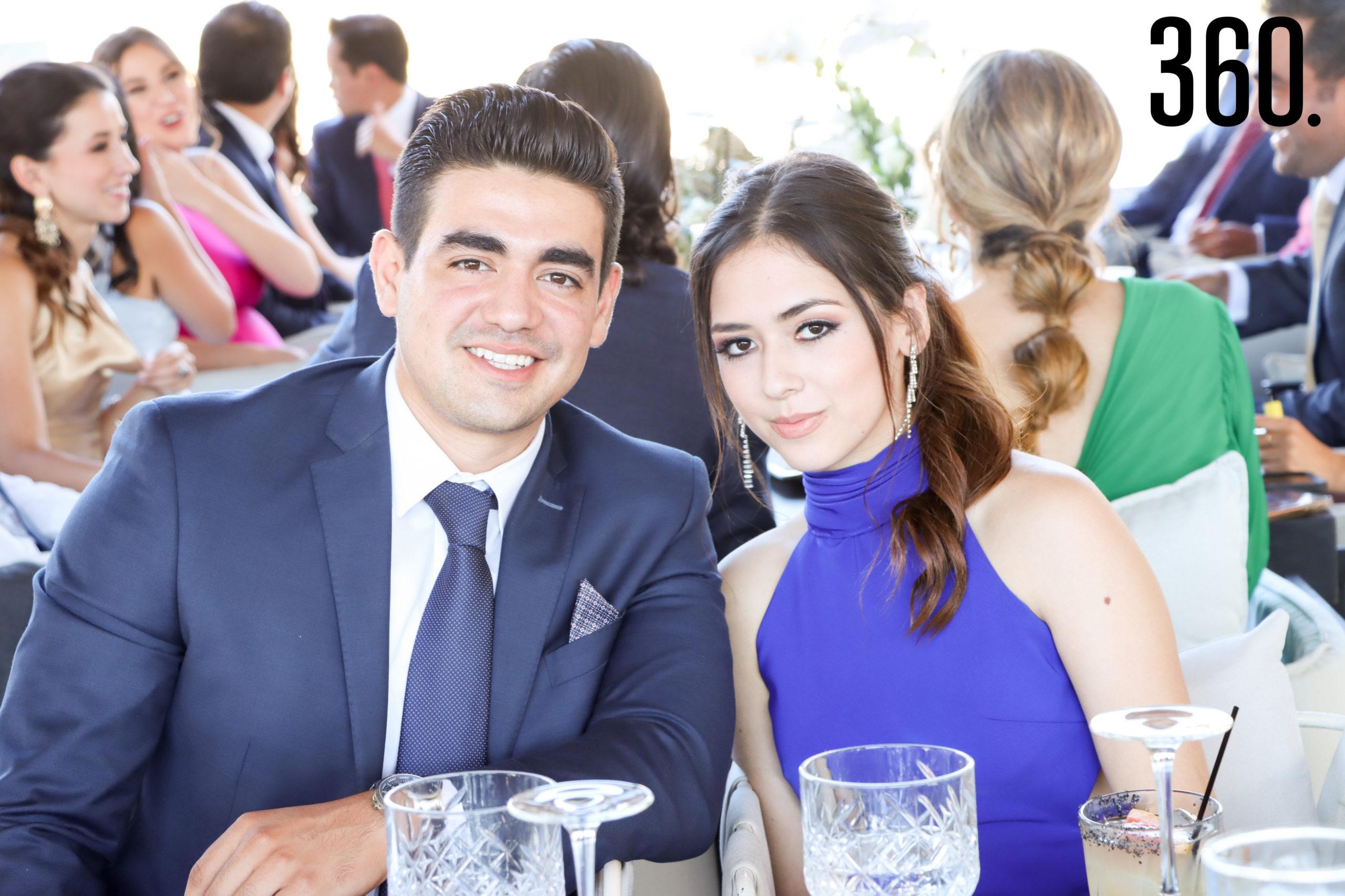 Eduardo Agüero y Karla Vallarta.