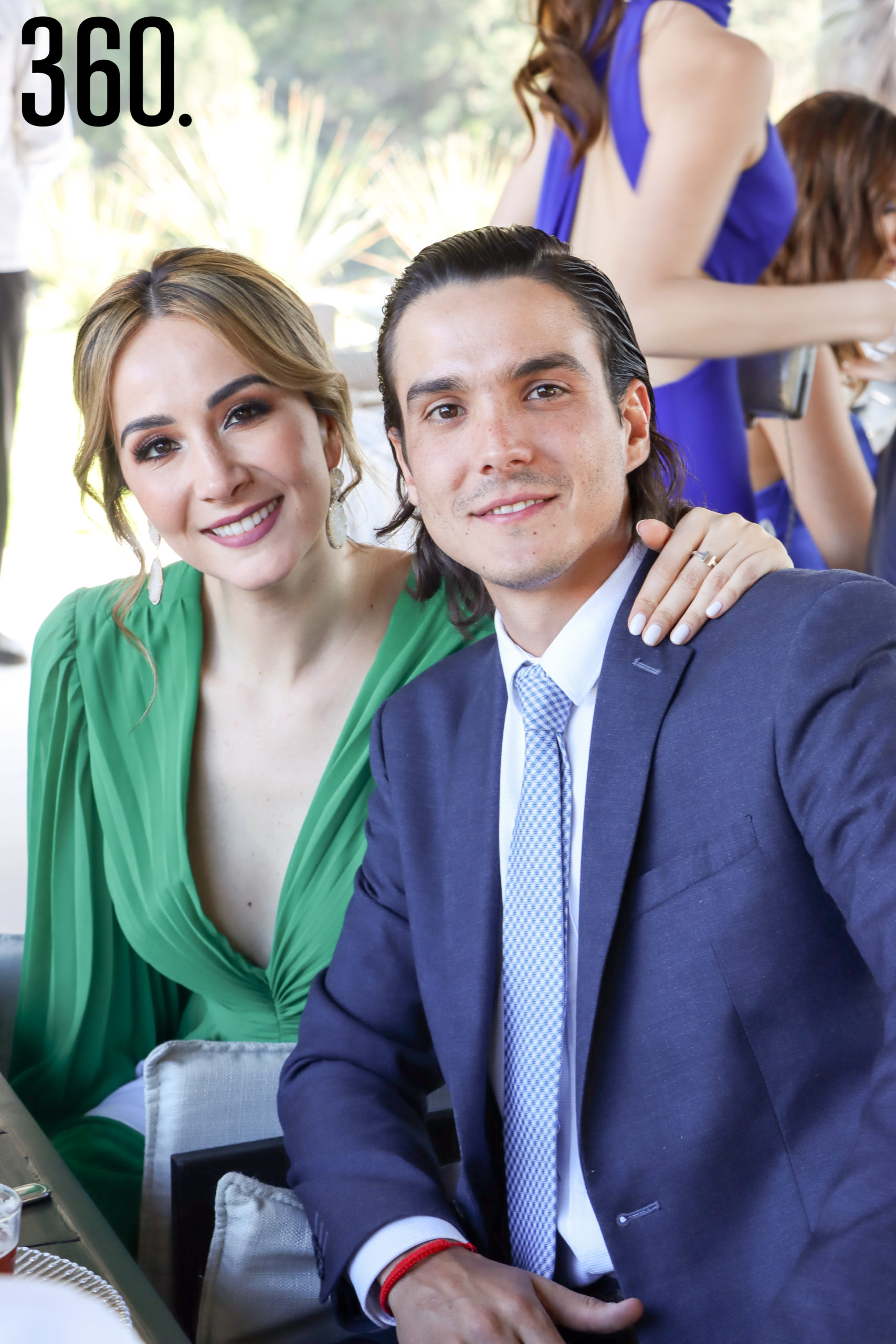 Ana Lucía González y Guillermo Torres.