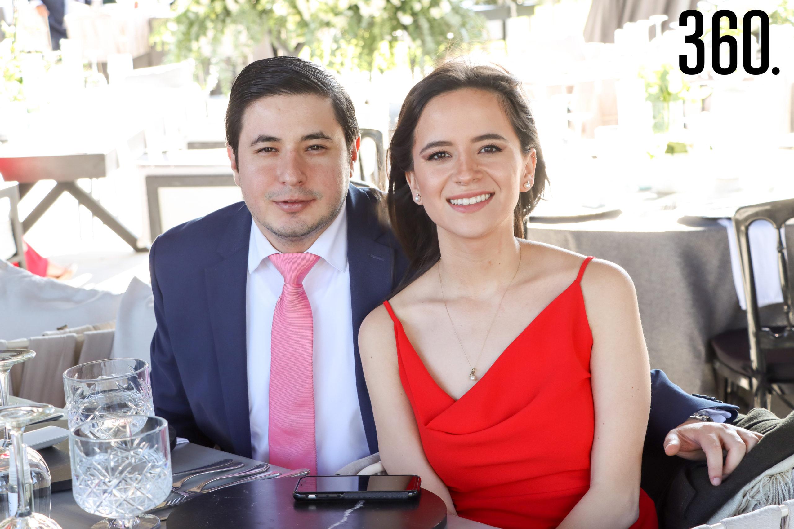 Alejandro González y Sofía Gutiérrez.
