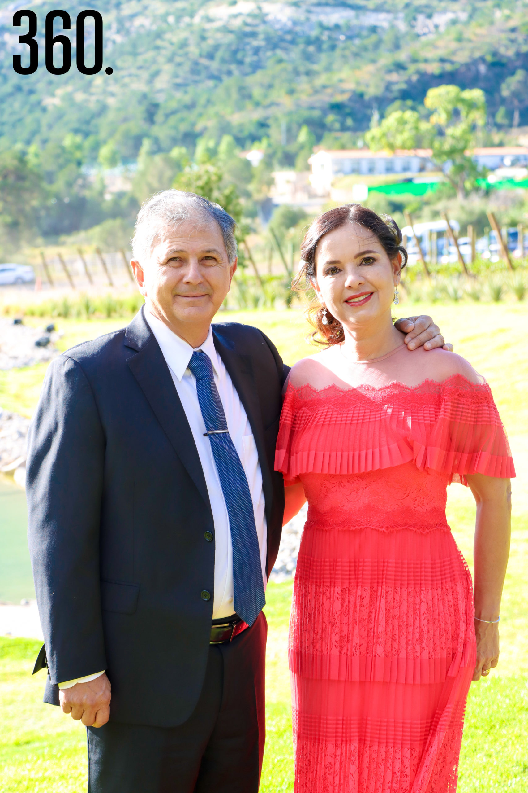 Mario Chapa y Rosy Alvarado.