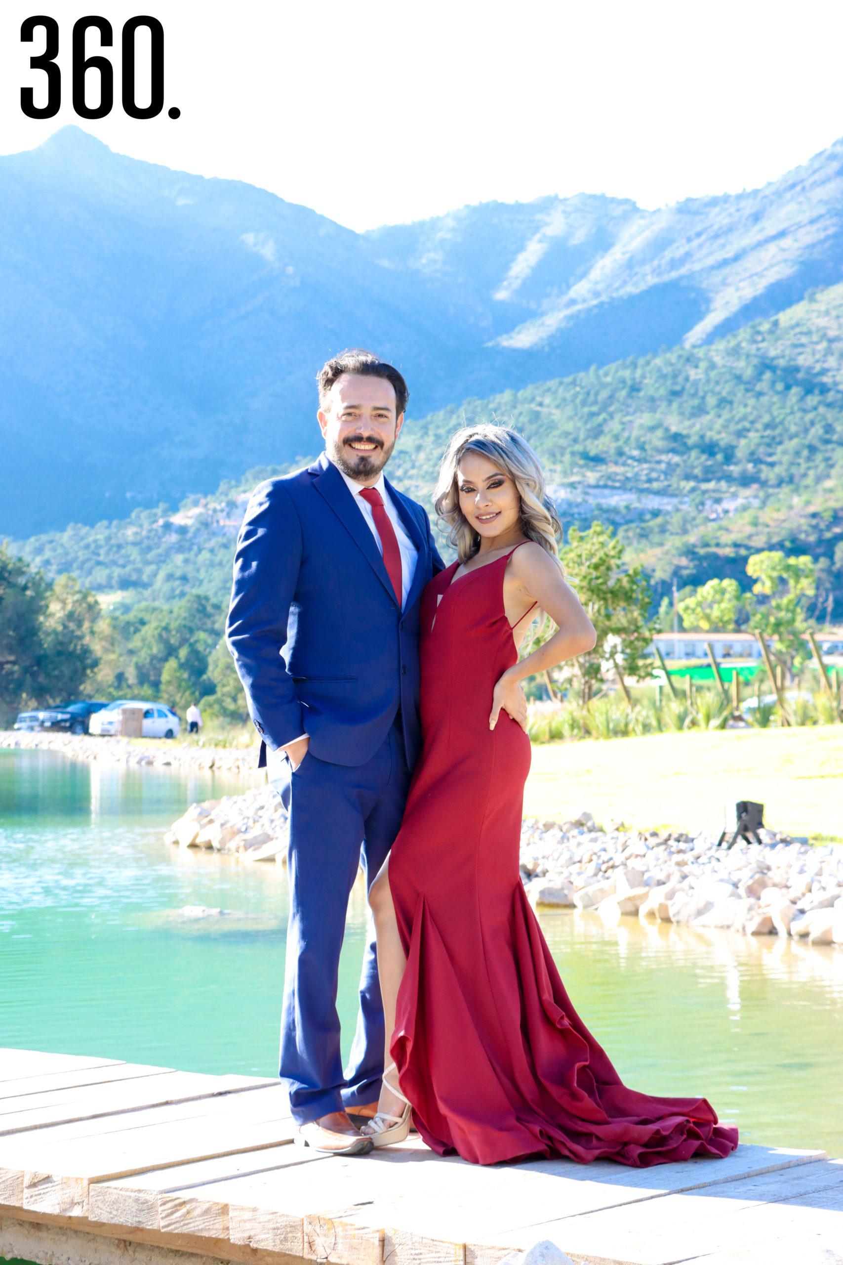 Héctor Martínez y Gabriela García.