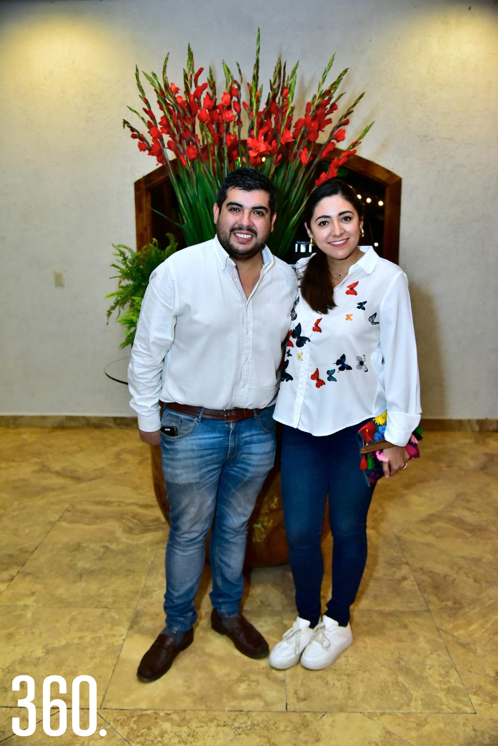 Mauricio Zapata y Diana Ramírez.