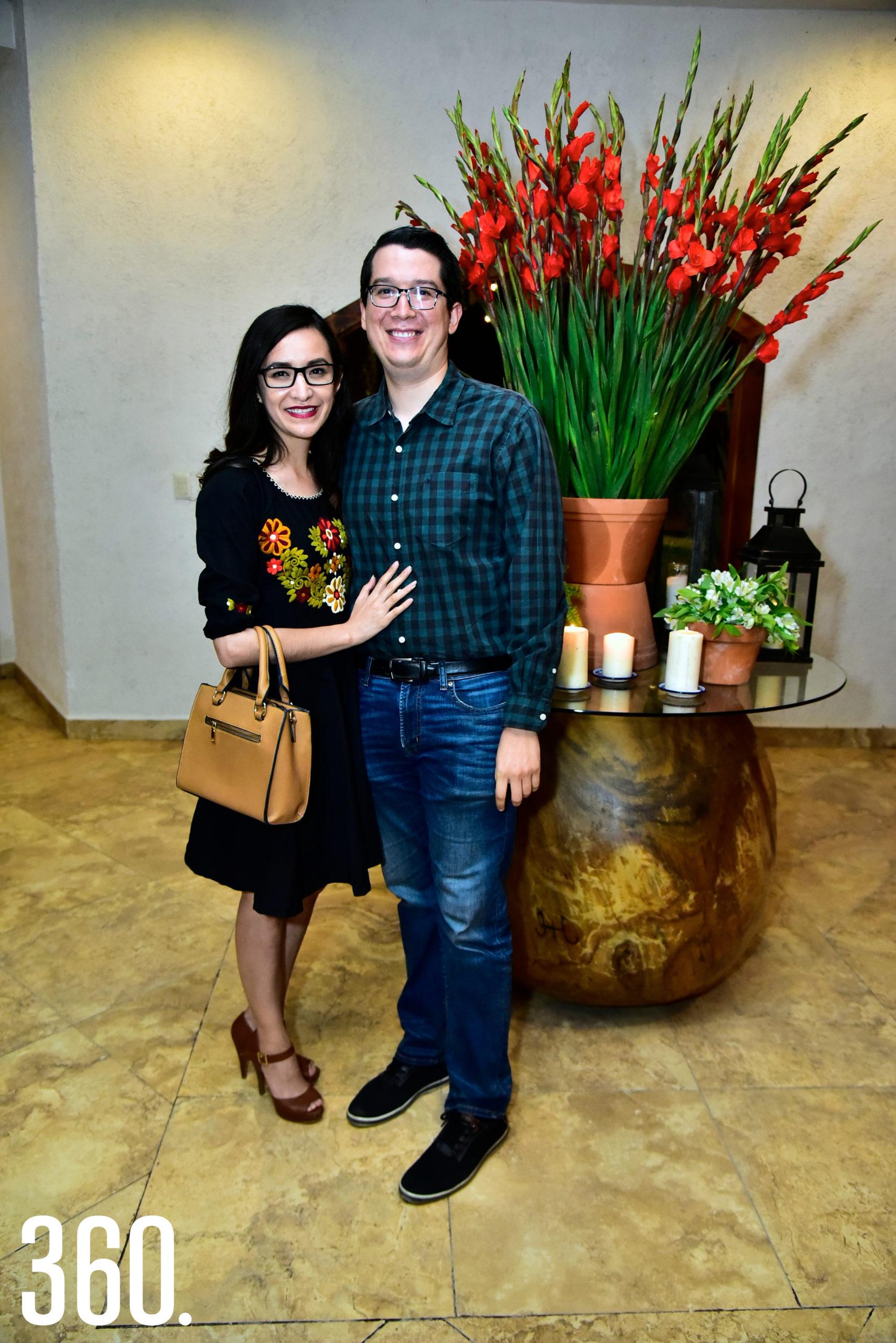 Ilean Ibarra y Jaime Zertuche.