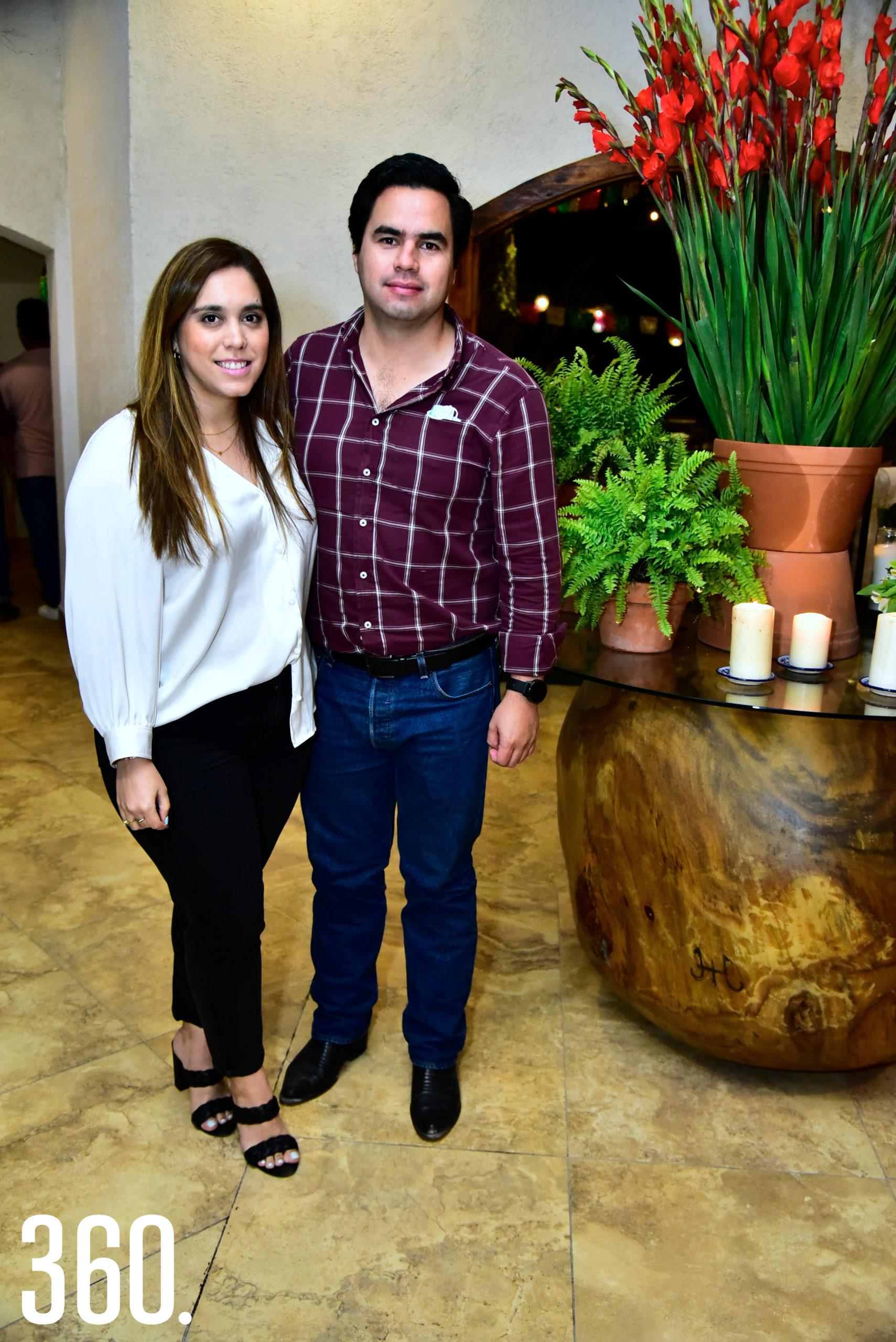Mariana de las Fuentes y Armando Maldonado.