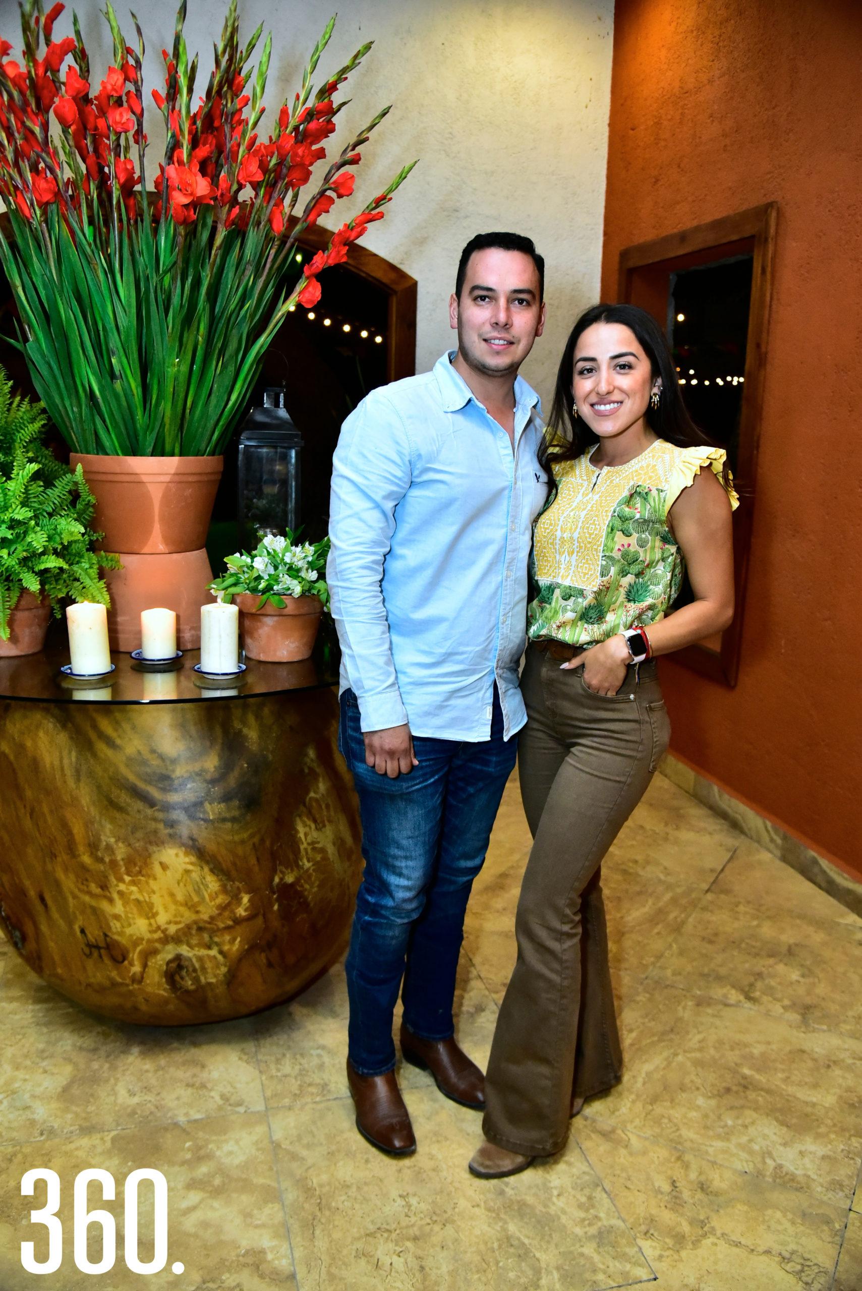 Erick Múzquiz y Montse Ramírez.