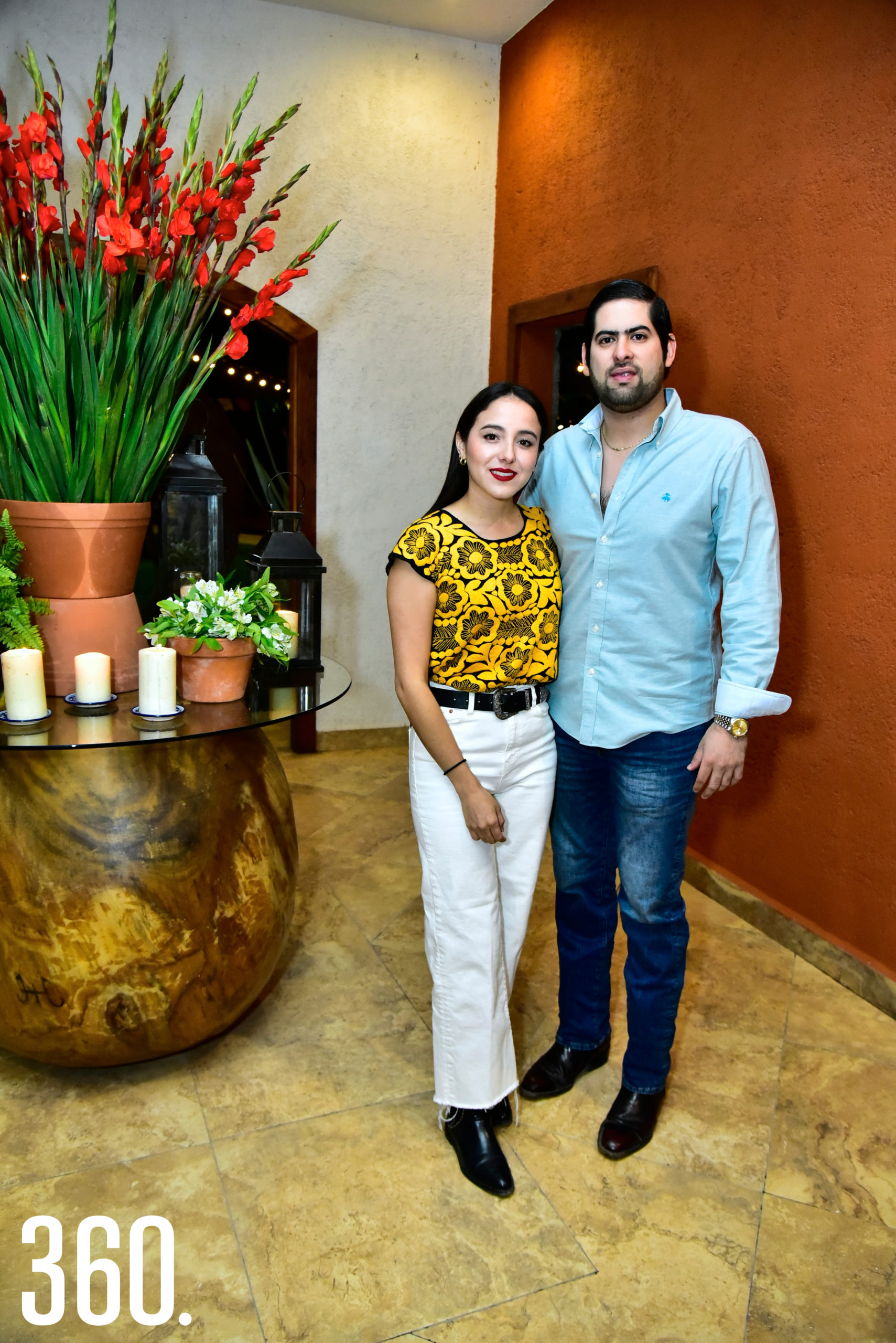 Daniela Ramírez y Agustín Del Anda.