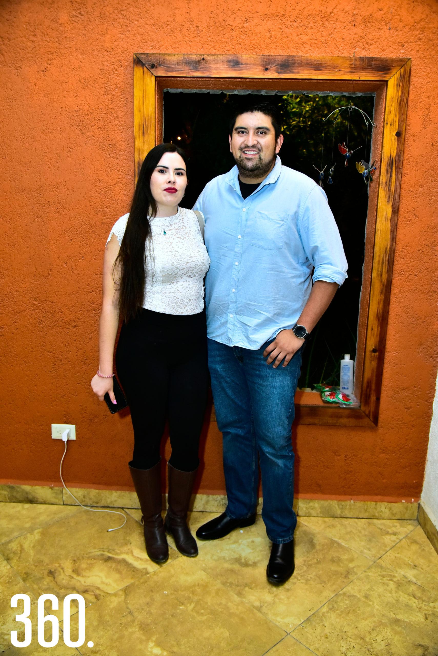 Fernanda de la Torre y Benito Ramos.
