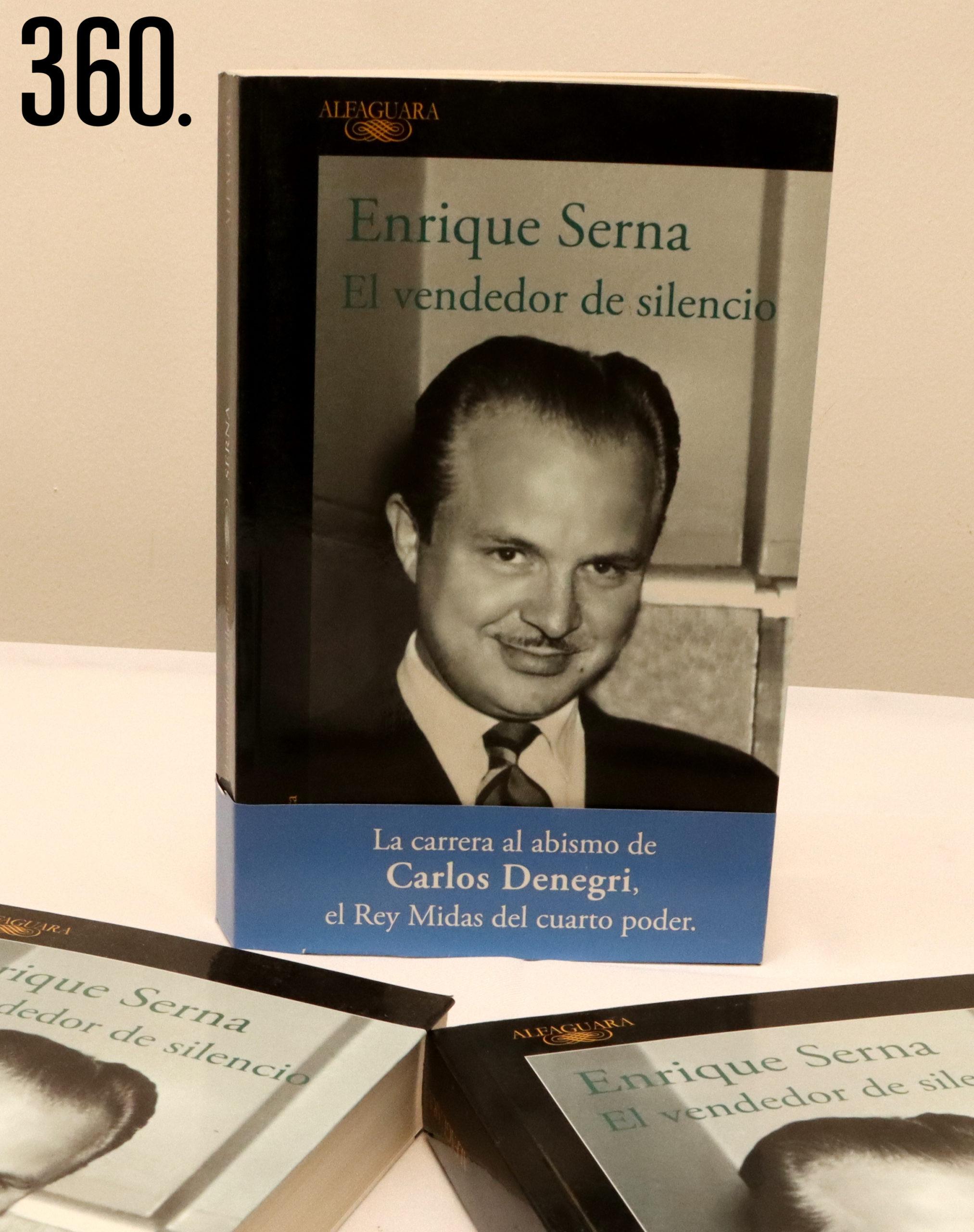 """Libro """"El vendedor de silencio"""" (Alfaguara 2019), ganador del premio Xavier Villaurrutia de Escritores para Escritores."""