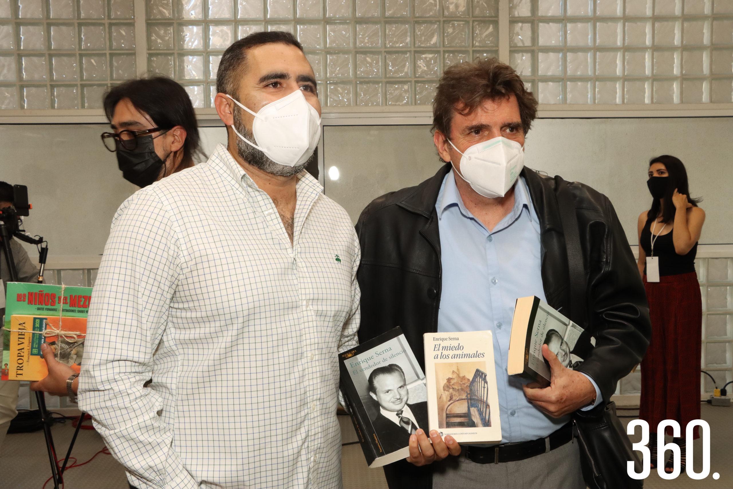 Pedro Martínez y Enrique Serna.