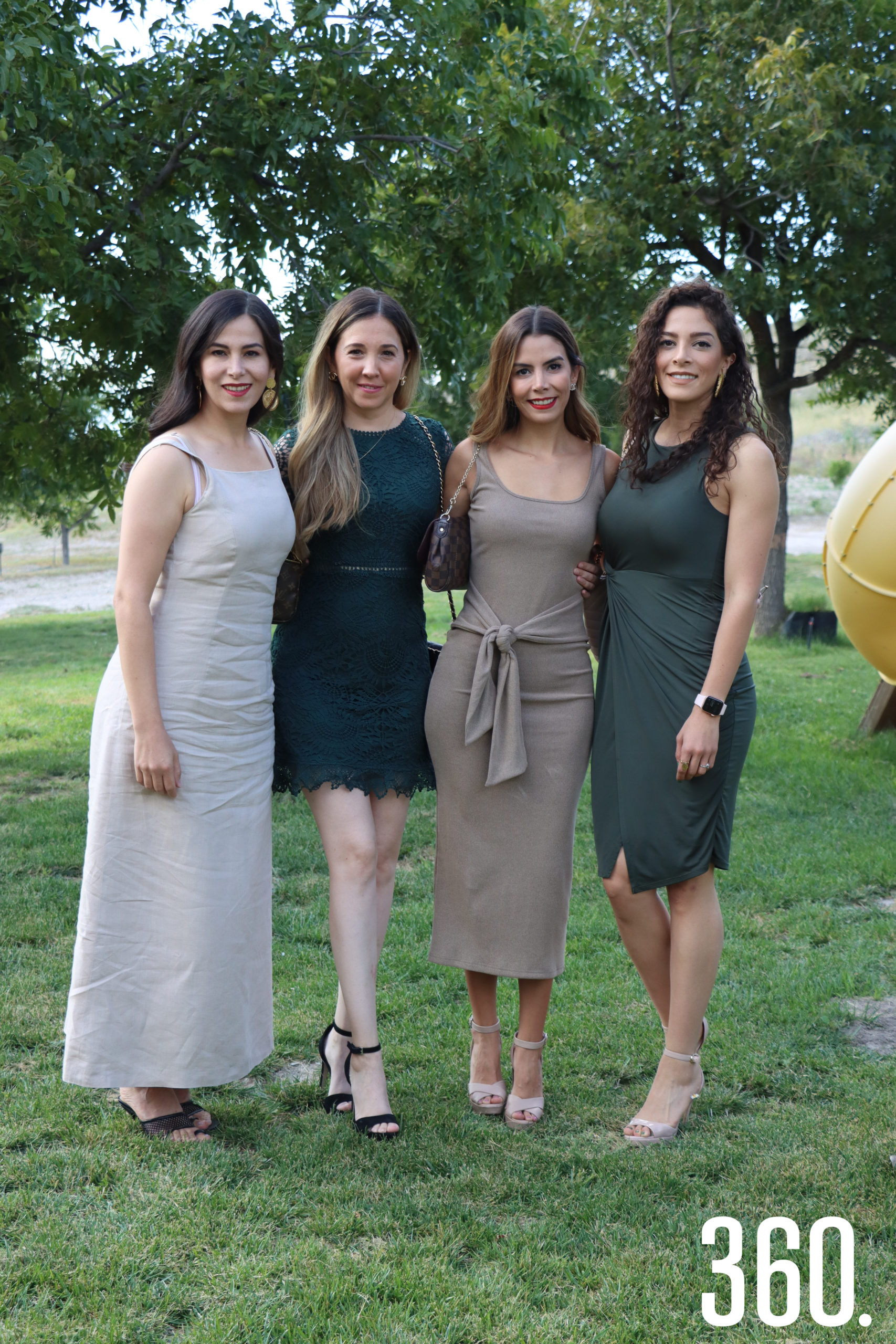 Mónica Villarreal, Mireya Navarro, Sara Rodríguez y Frida Mancha