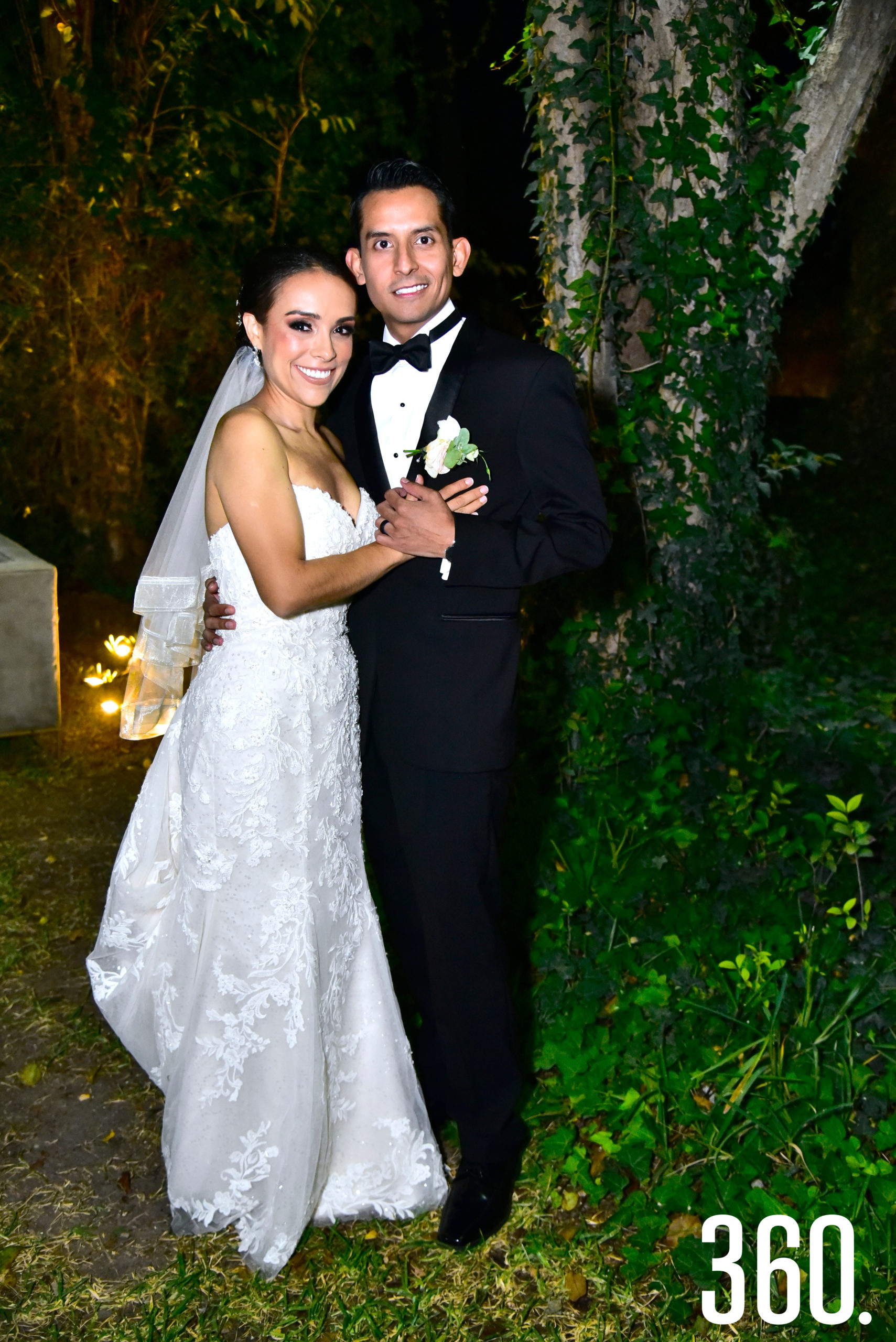 María Fernanda Molina Berrueto y Luis Eduardo López Espinoza.