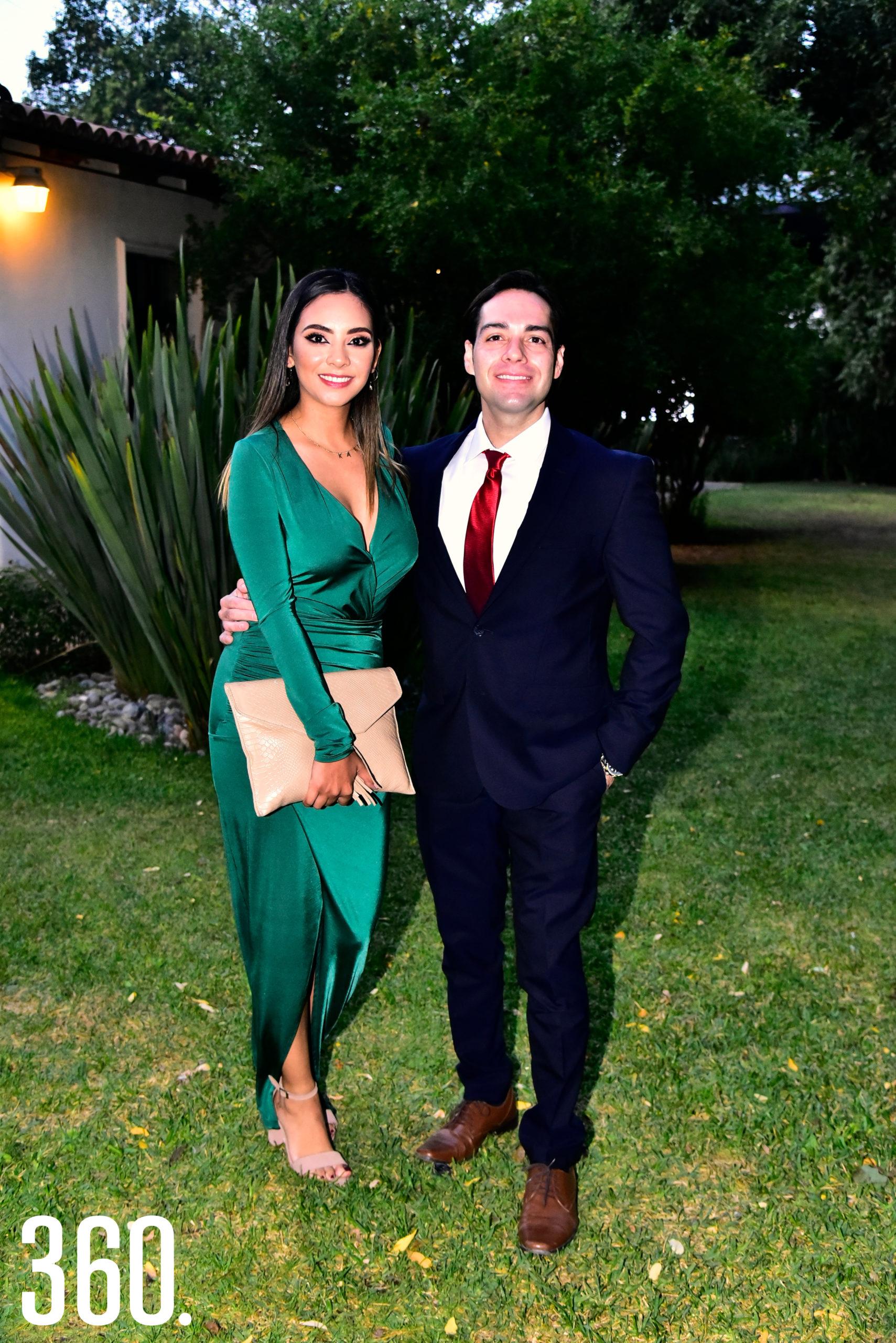 Karla Baragaño y Arturo Alcaraz.