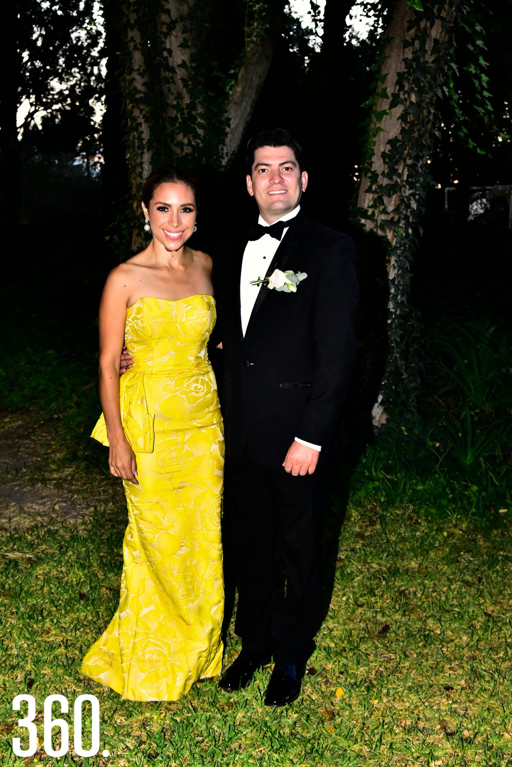 Marielena Molina y Néstor Garza Vara.