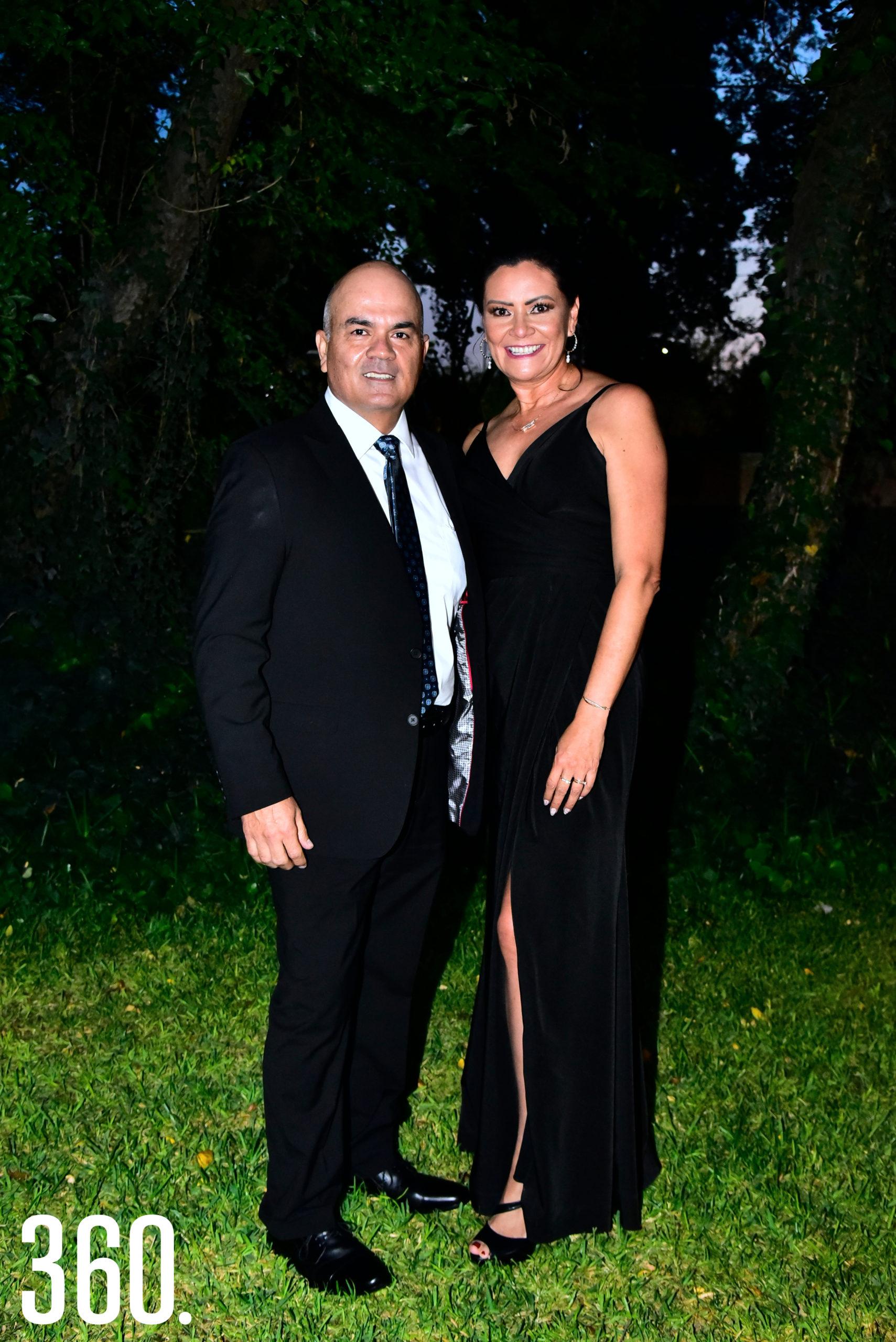 Jesús Torres y Gladys Ramos.