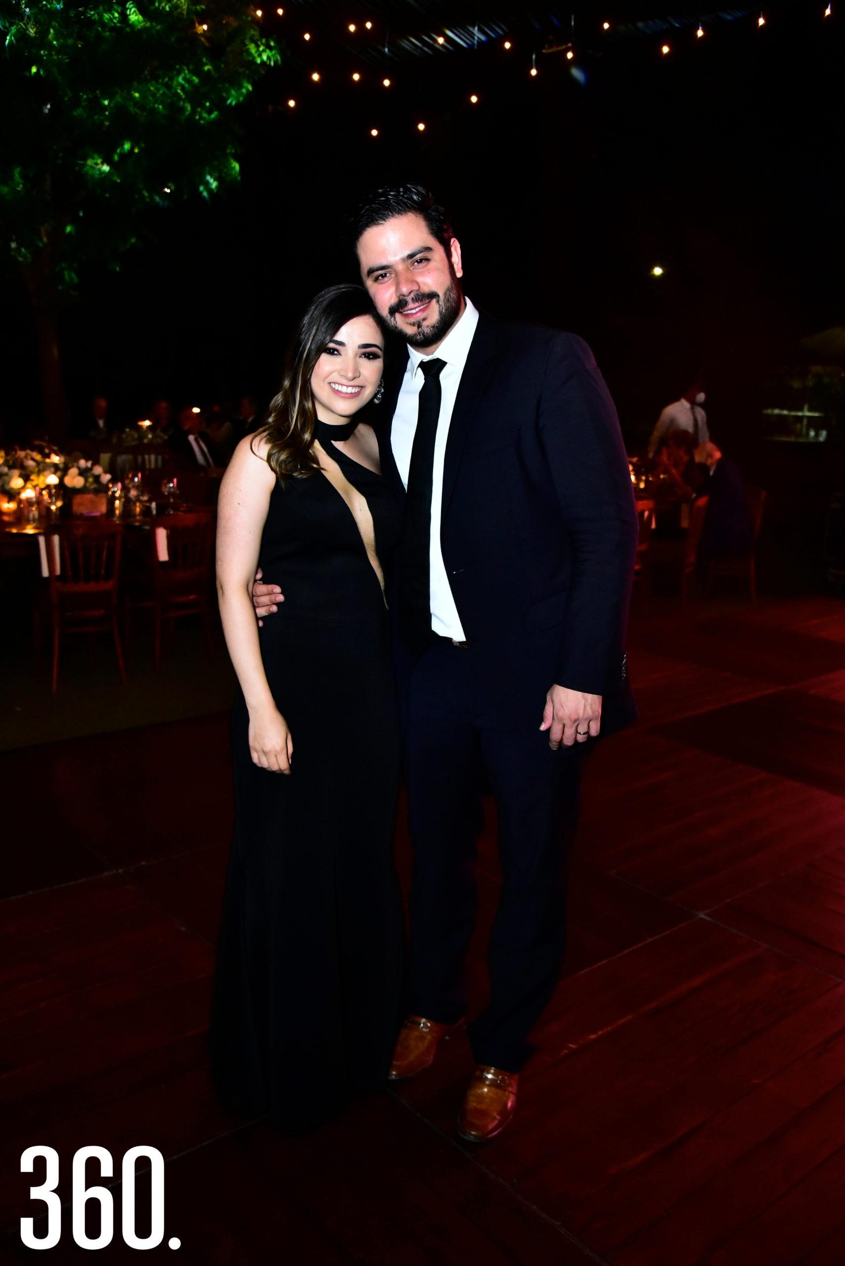 Norma Morales y Eduardo García.