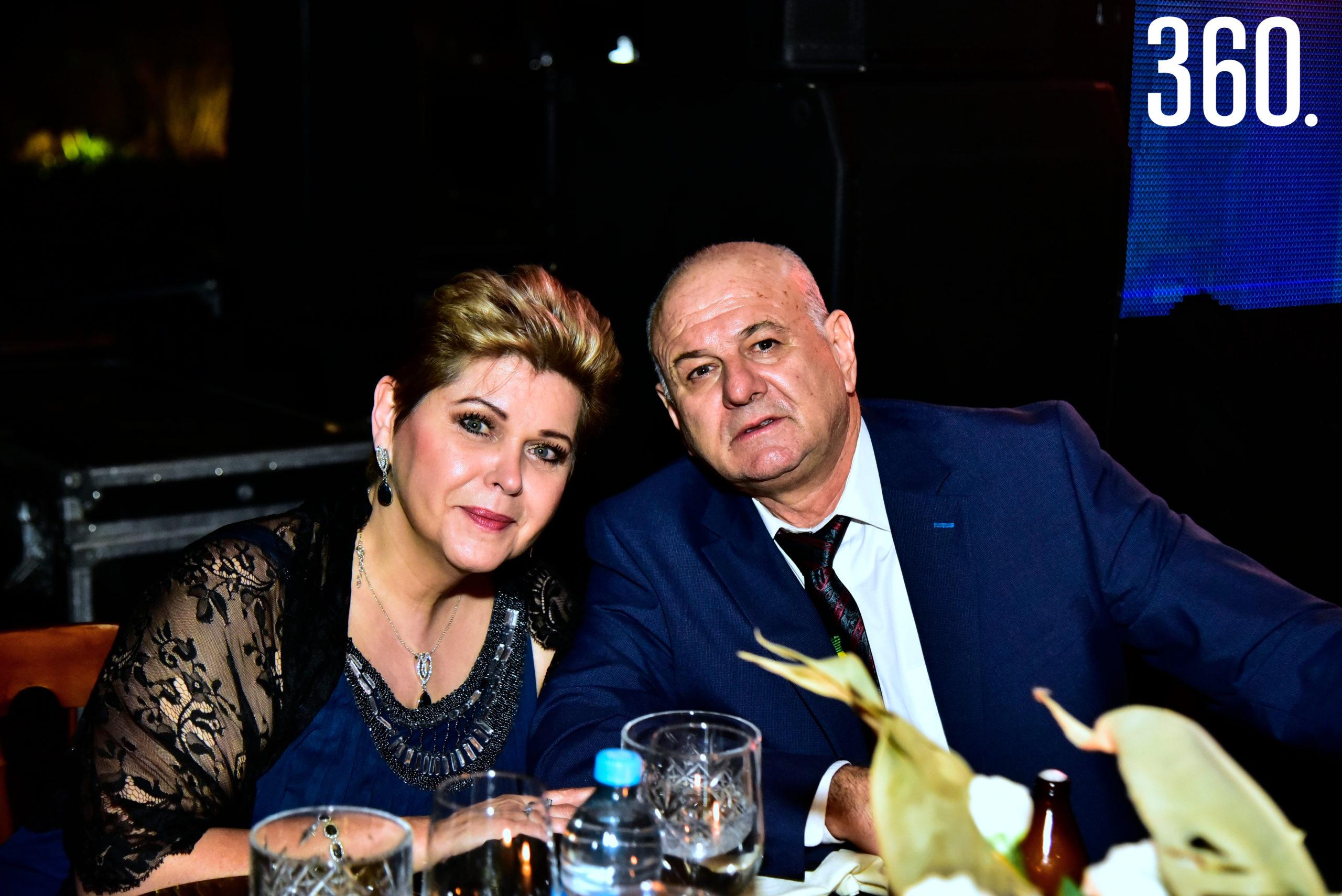 Luz María Berrueto y Manuel Acuña.