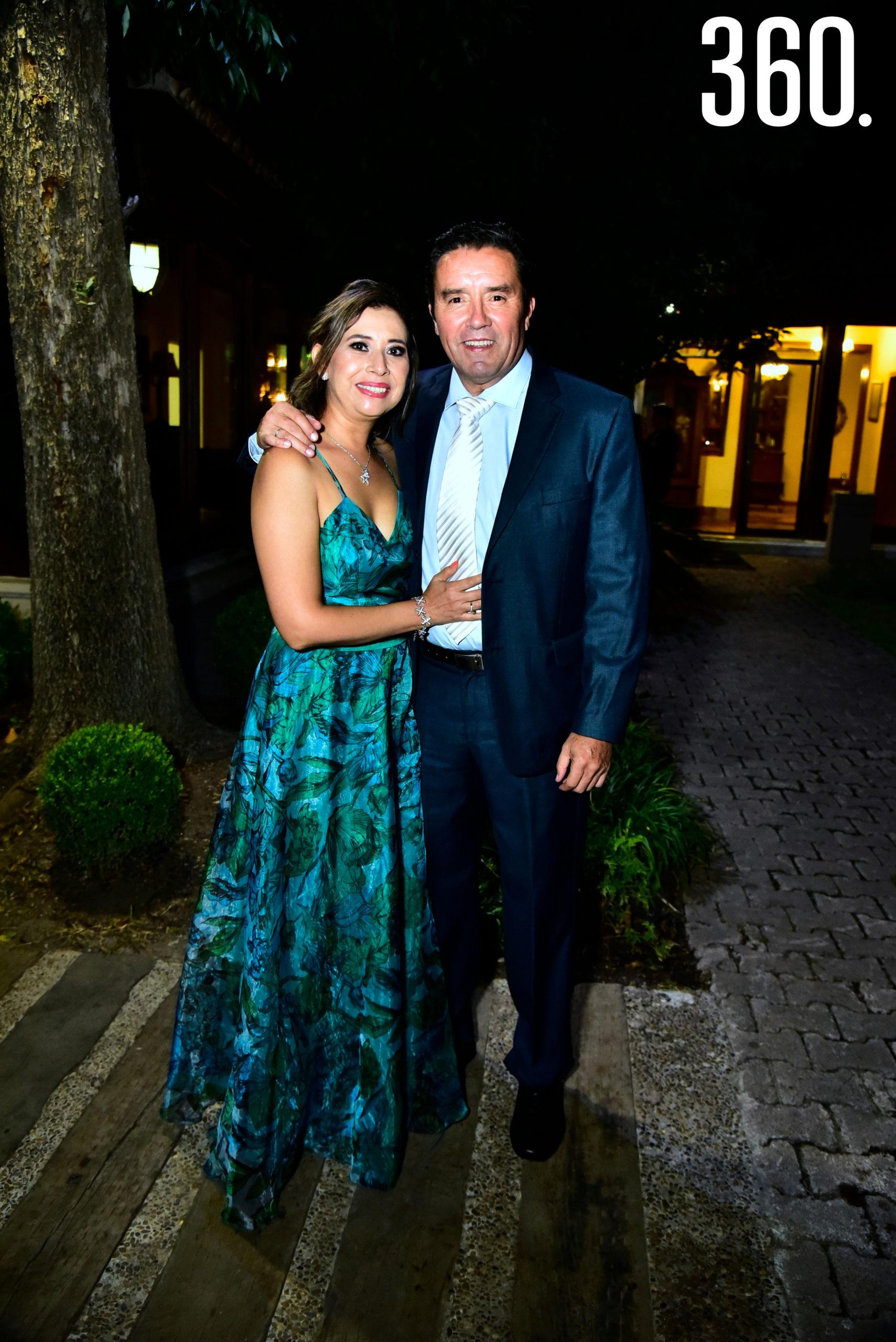 Ivonne Segovia y Ariel Berrueto.