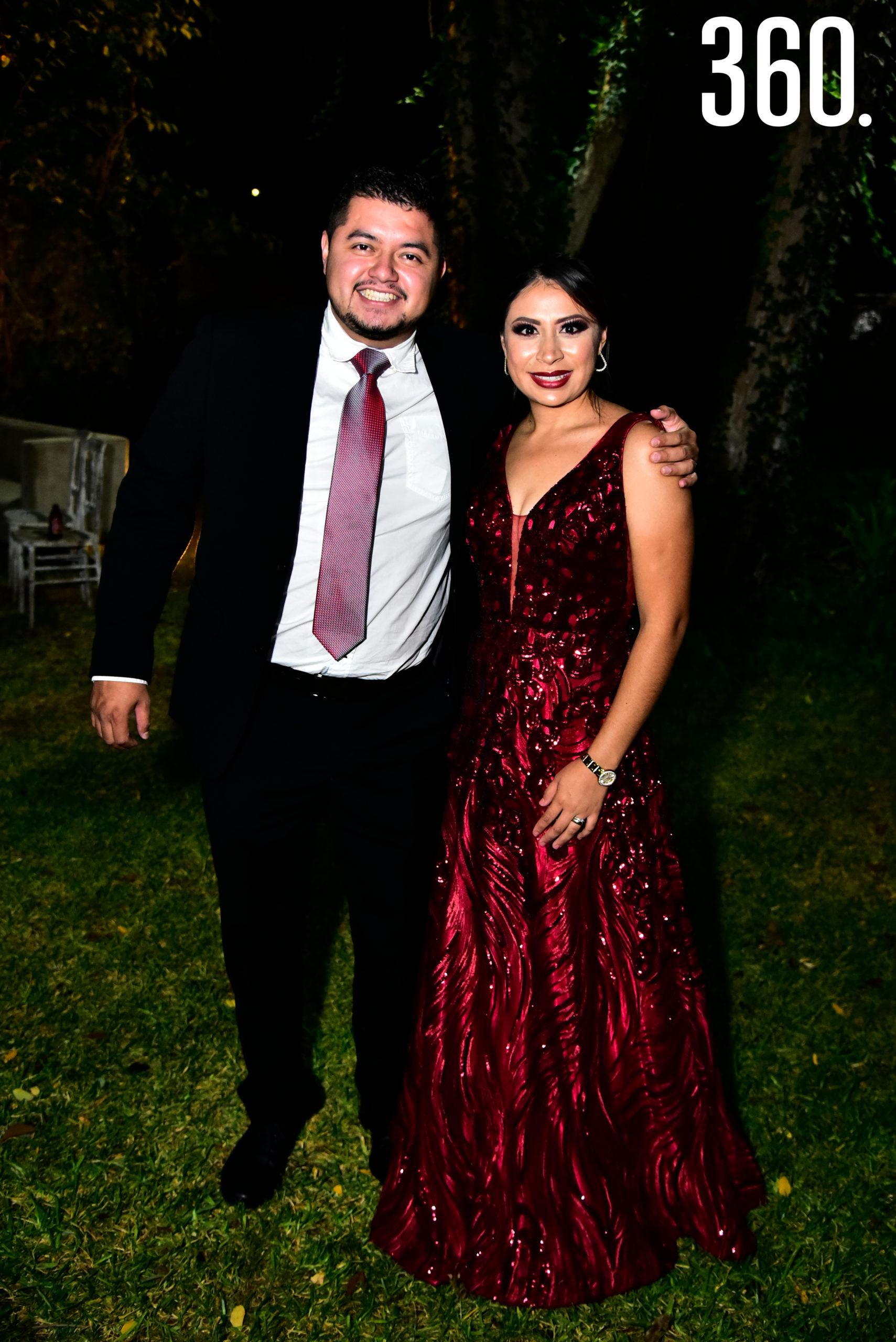 Mario Alvarado y Gabriela Pérez.