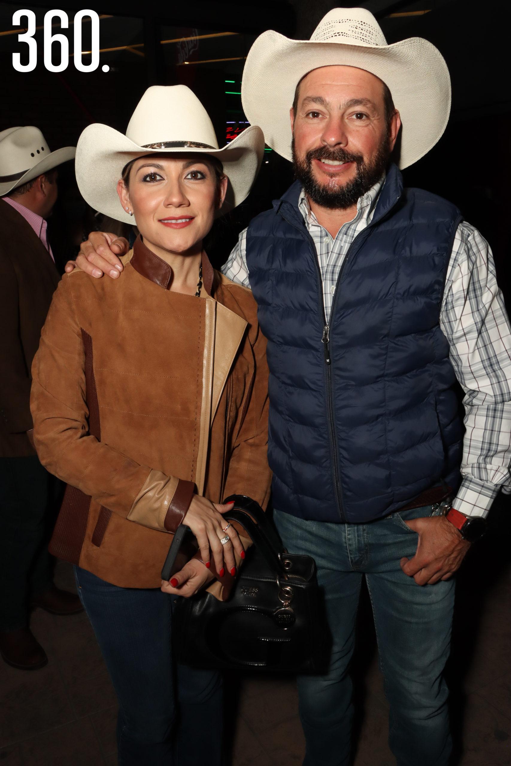 Alejandra Salgado y Álvaro Martínez.