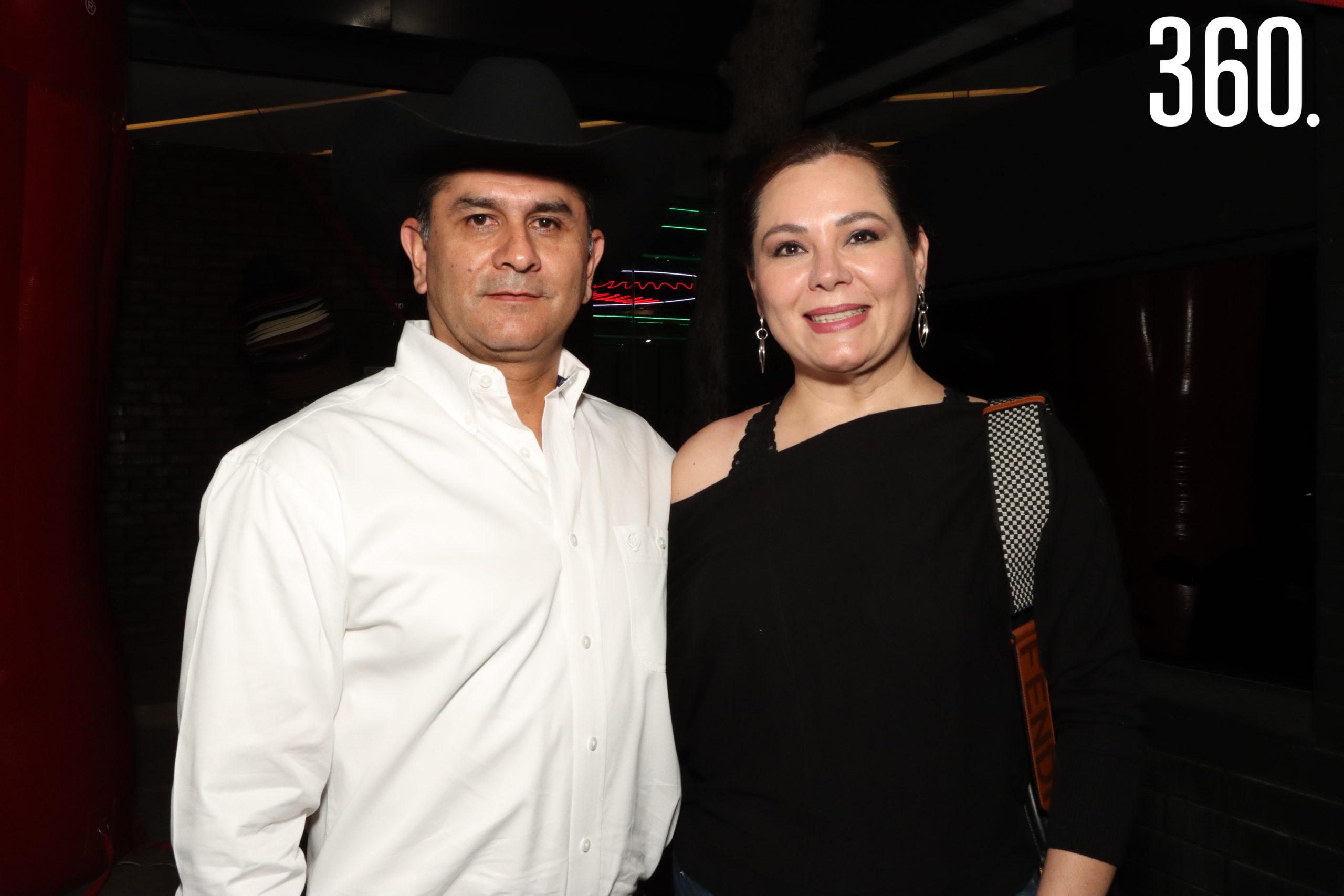 Juan Manuel Morales y Lorena Marin.