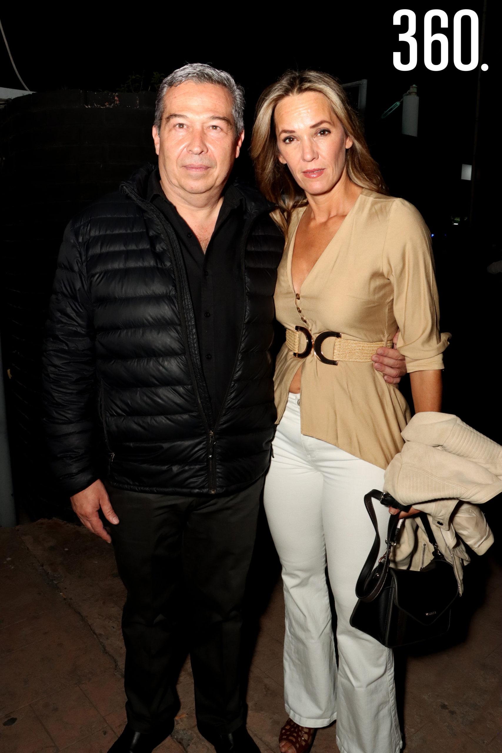 Gerardo Verduzco y Yolanda del Bosque.
