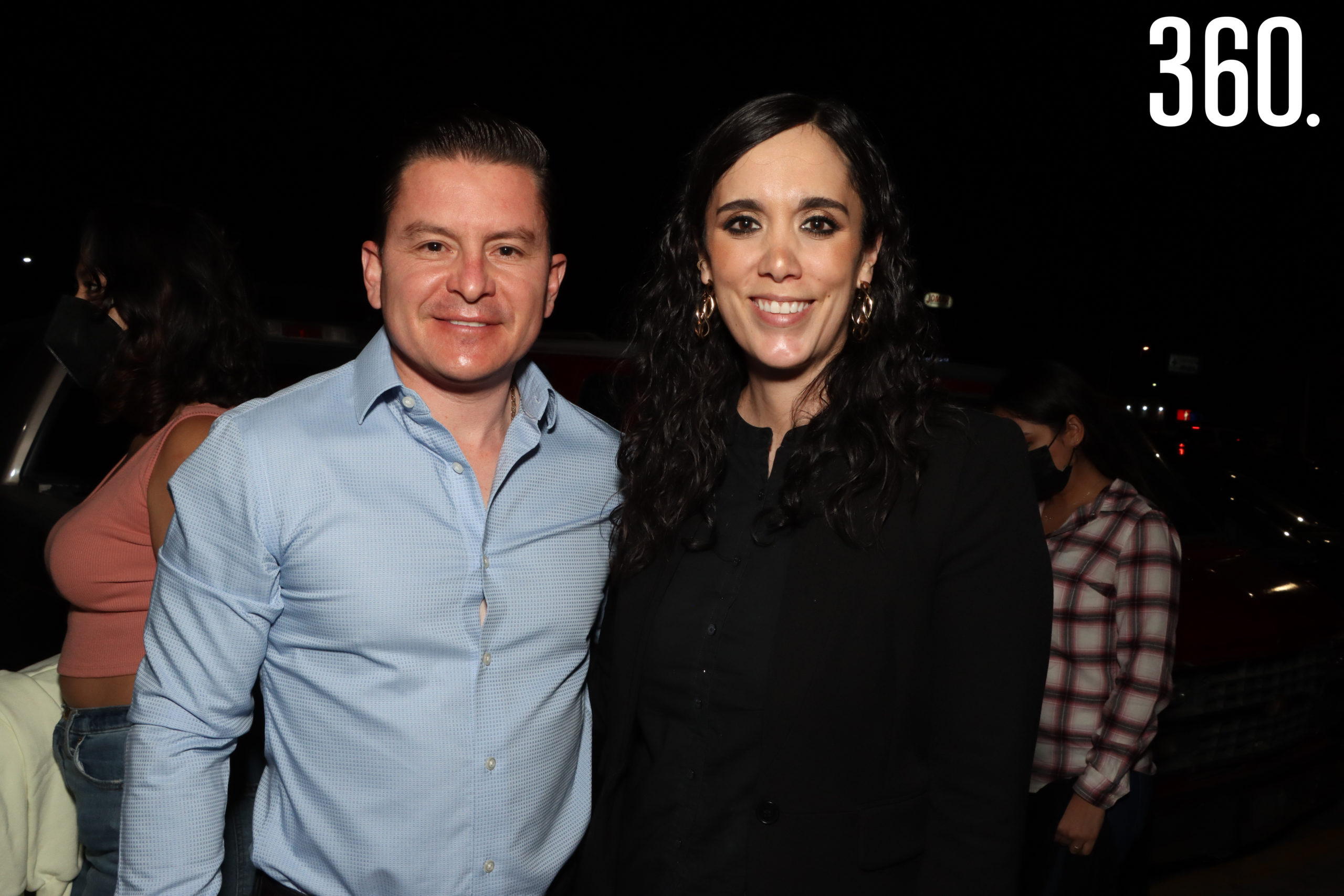 Luis Garza y Paty Treviño.