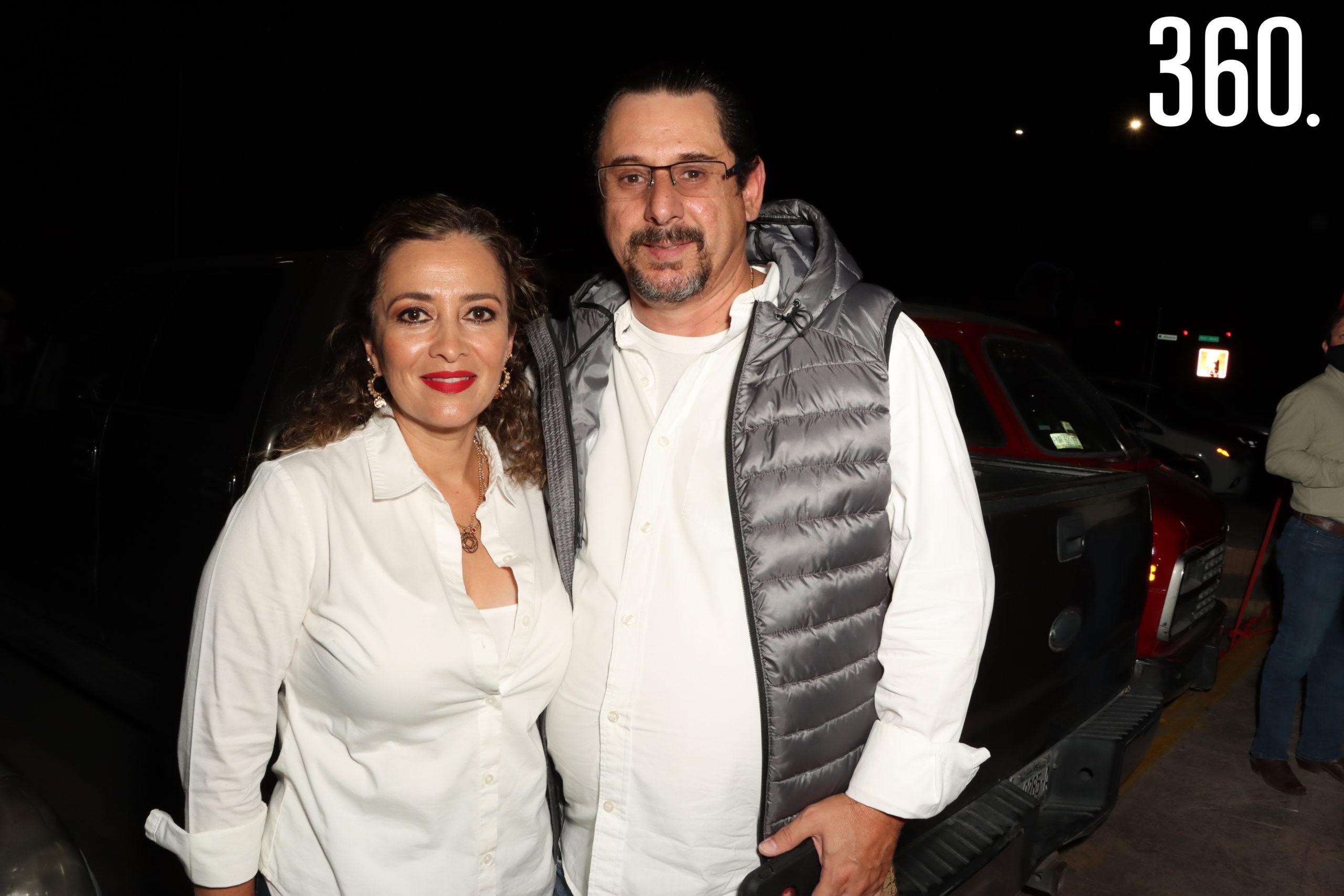 Verónica González y Mario del Bosque.