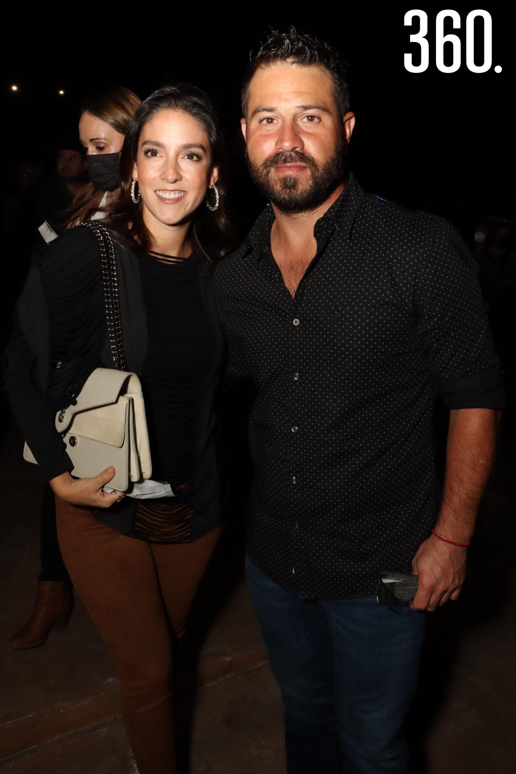 Valeria Briones y Jorge Cuéllar.