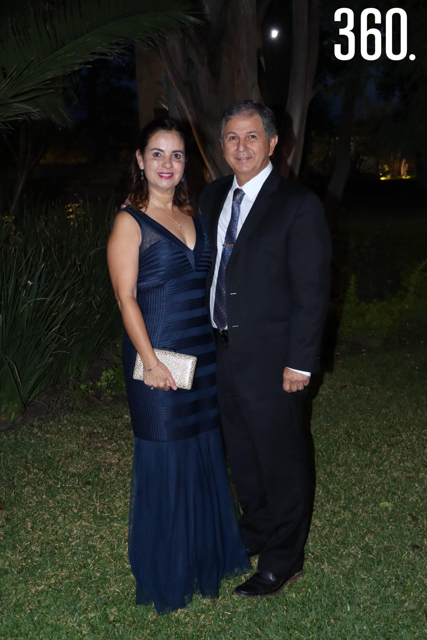 Rocío Alvarado y Mario Chapa.