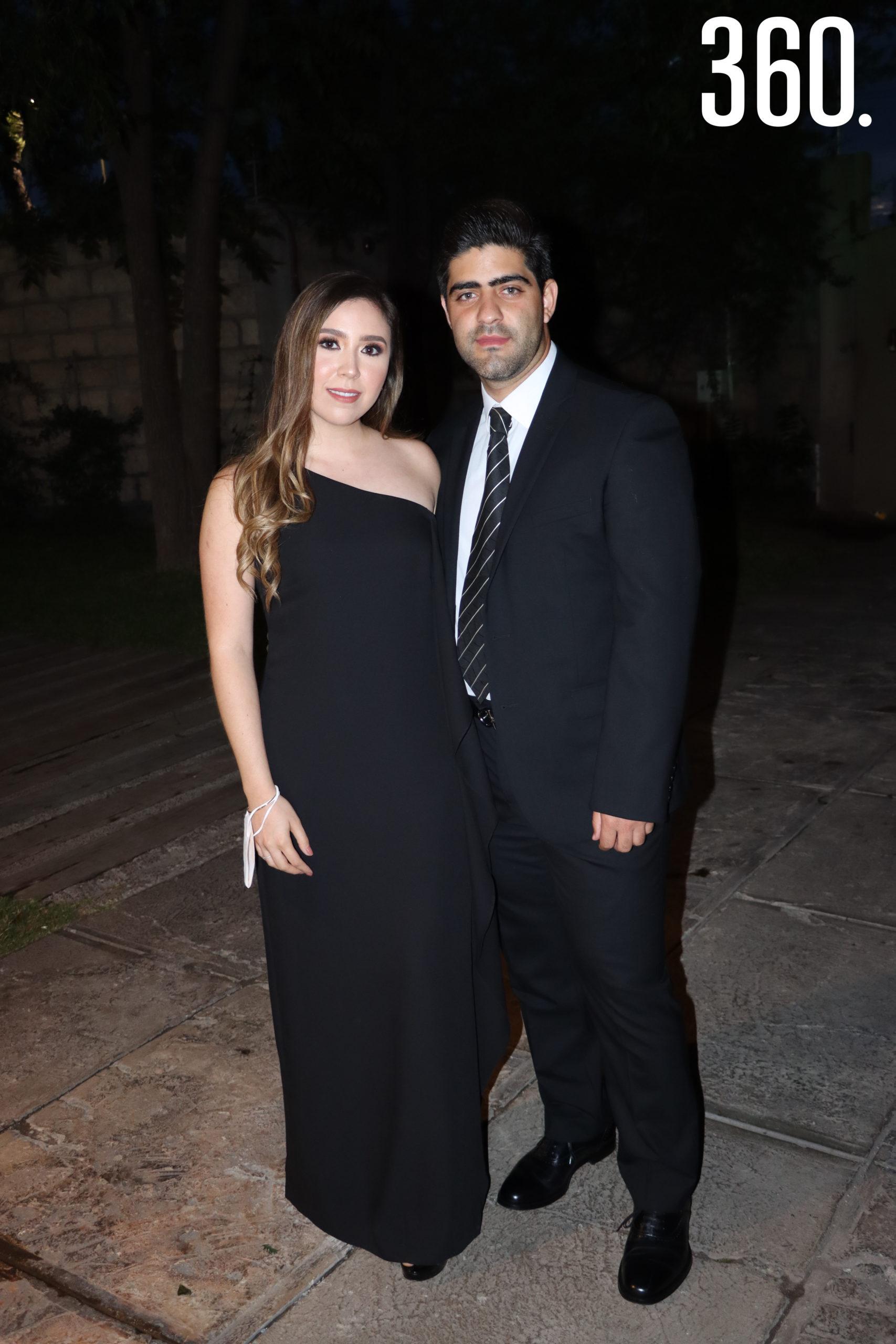Alejandra Sandoval y Víctor Campo.