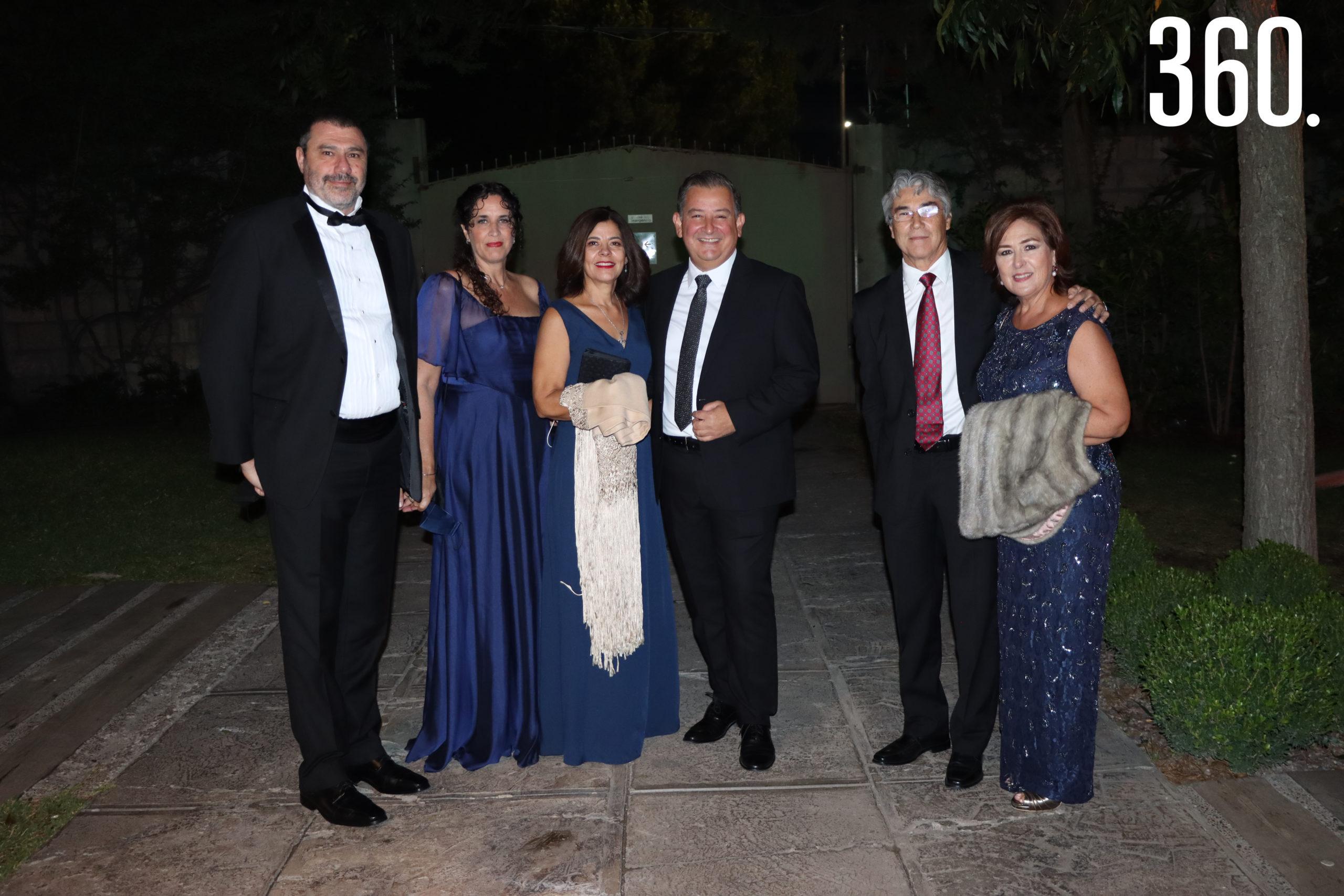Adrián Russo, Mercedes Balsán, Martha Borrego, Juan Pablo Madero, Héctor Rodríguez y Silvia Leal.