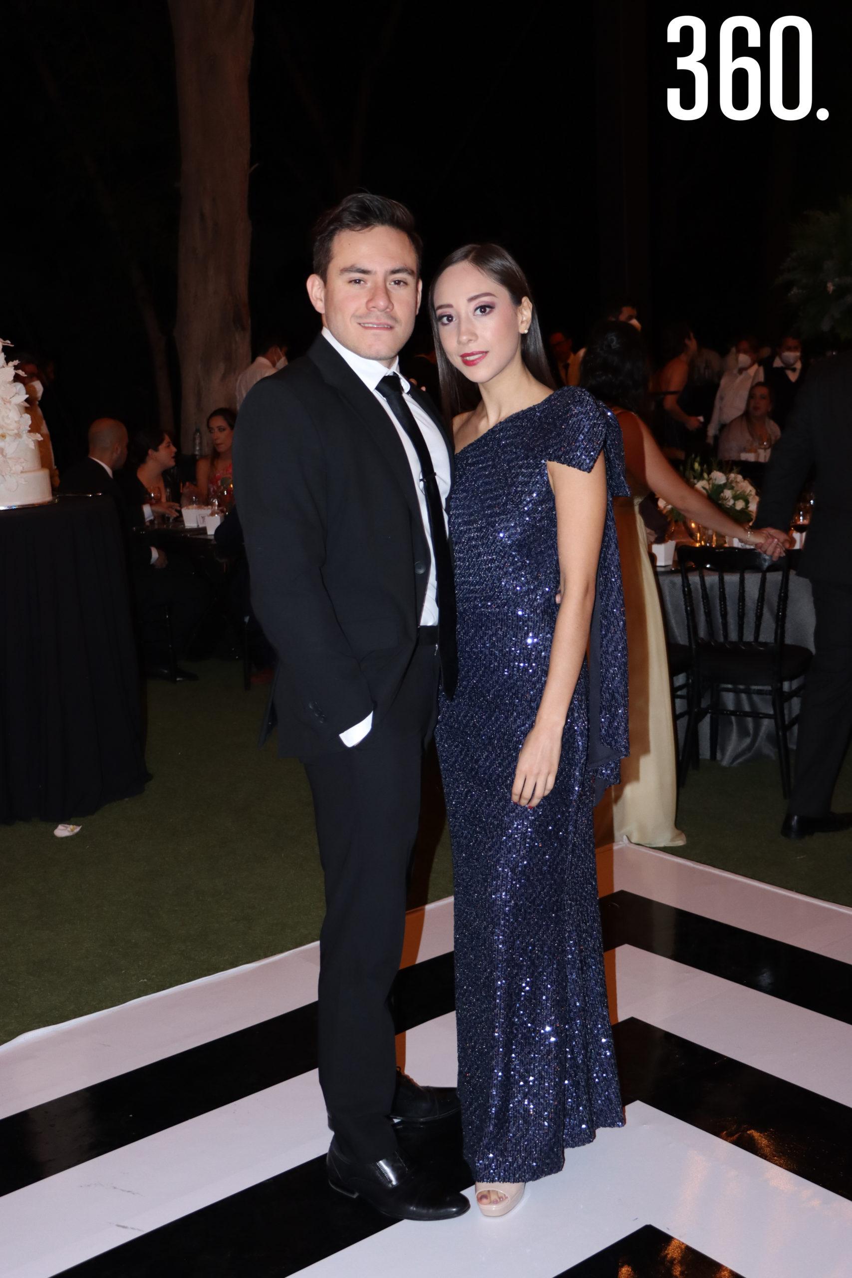 David Treviño y Kassandra Barrera.